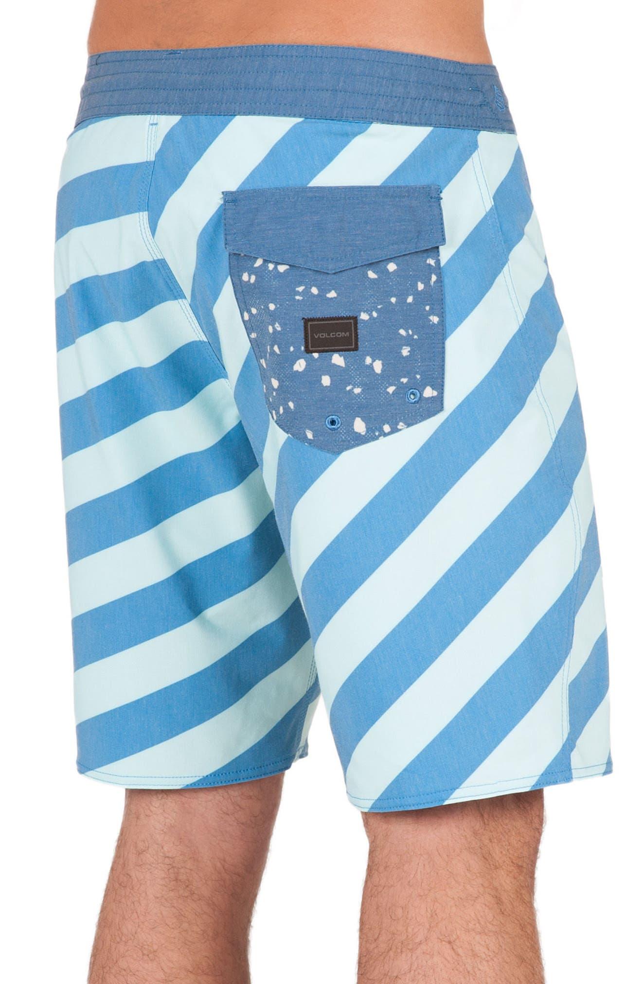 Stripey Slinger Board Shorts,                             Alternate thumbnail 17, color,