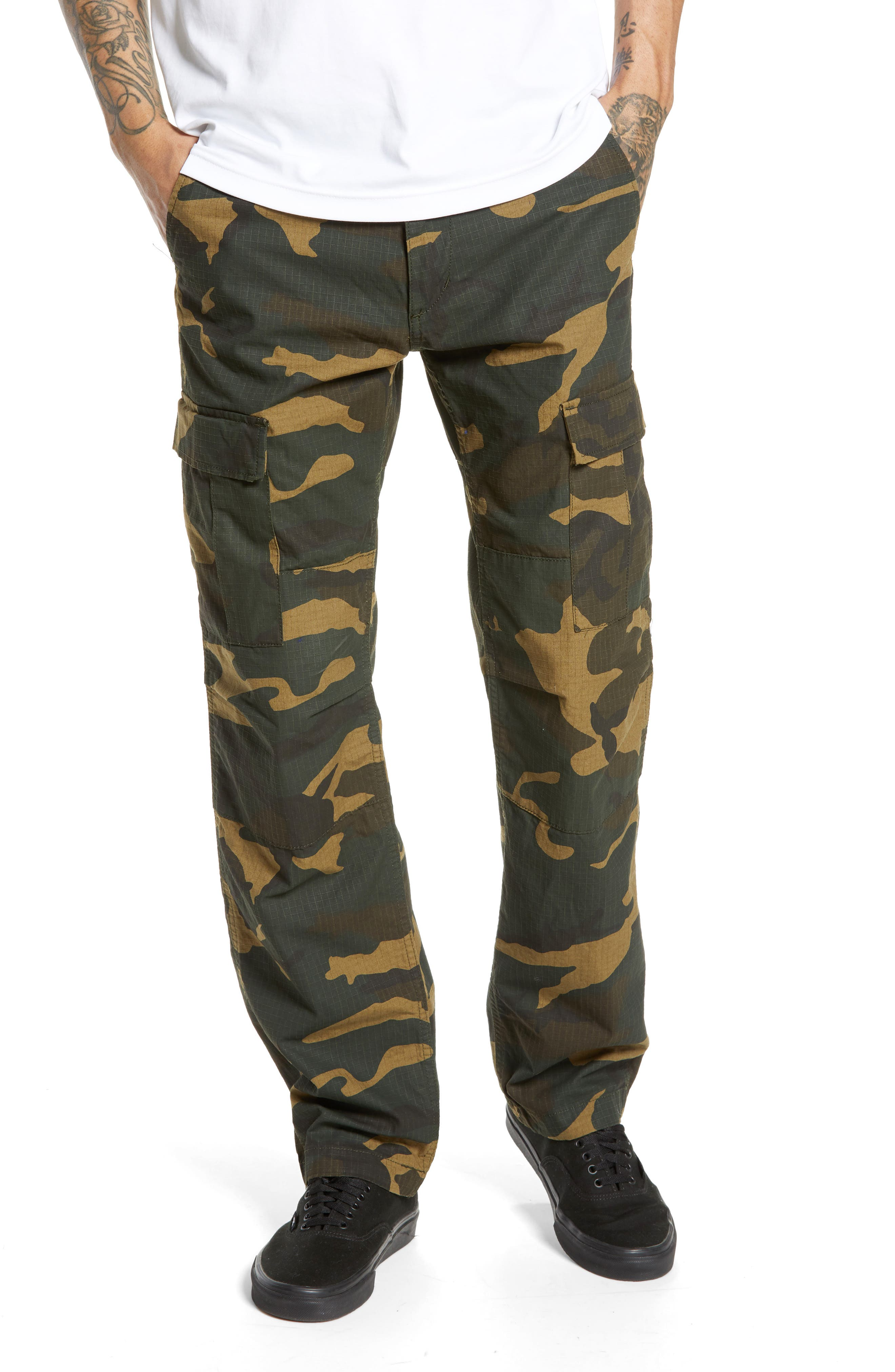 Aviation Cargo Pants, Main, color, CAMO LAUREL