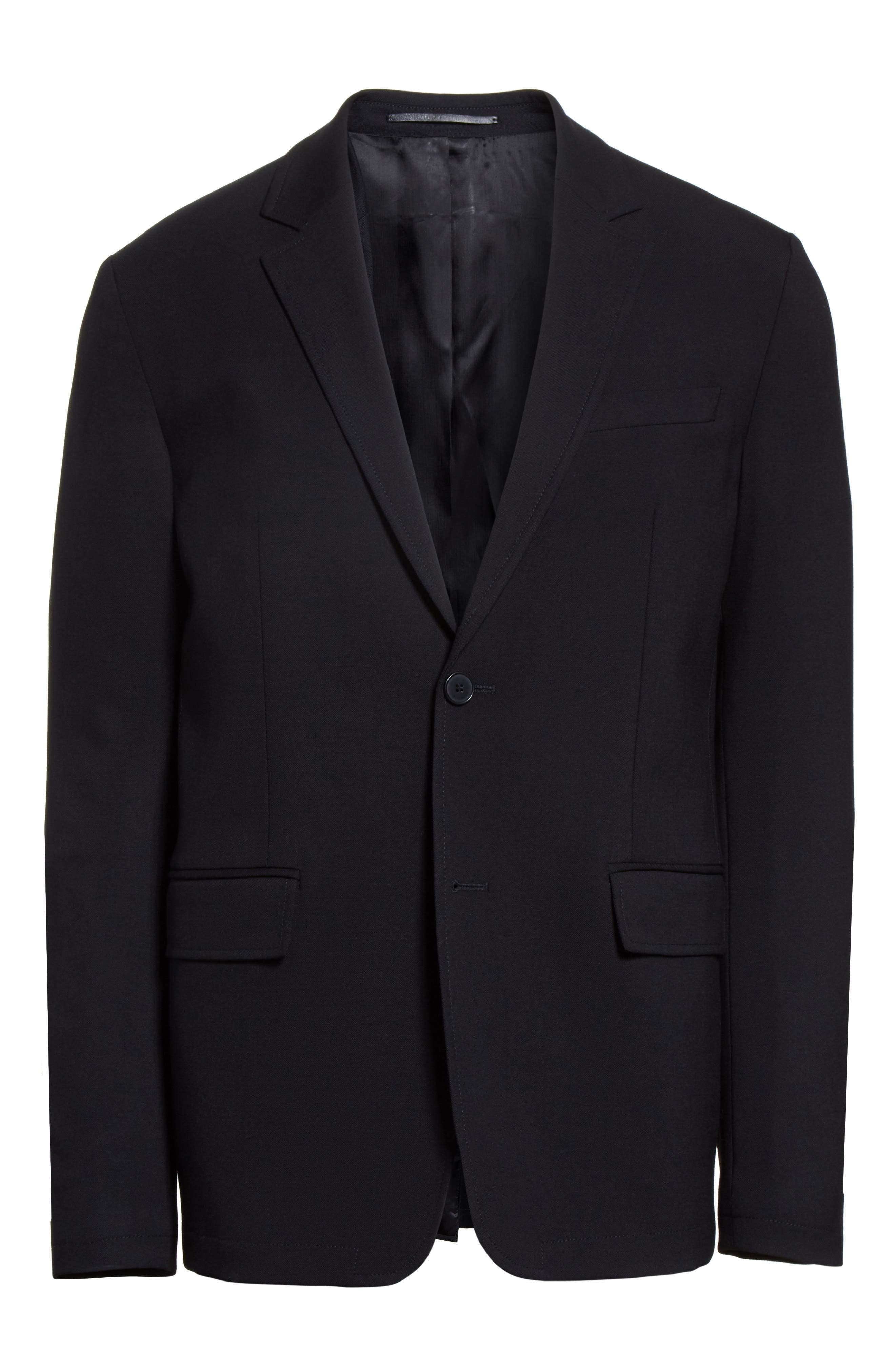 Star Tape Stretch Wool Jacket,                             Alternate thumbnail 2, color,