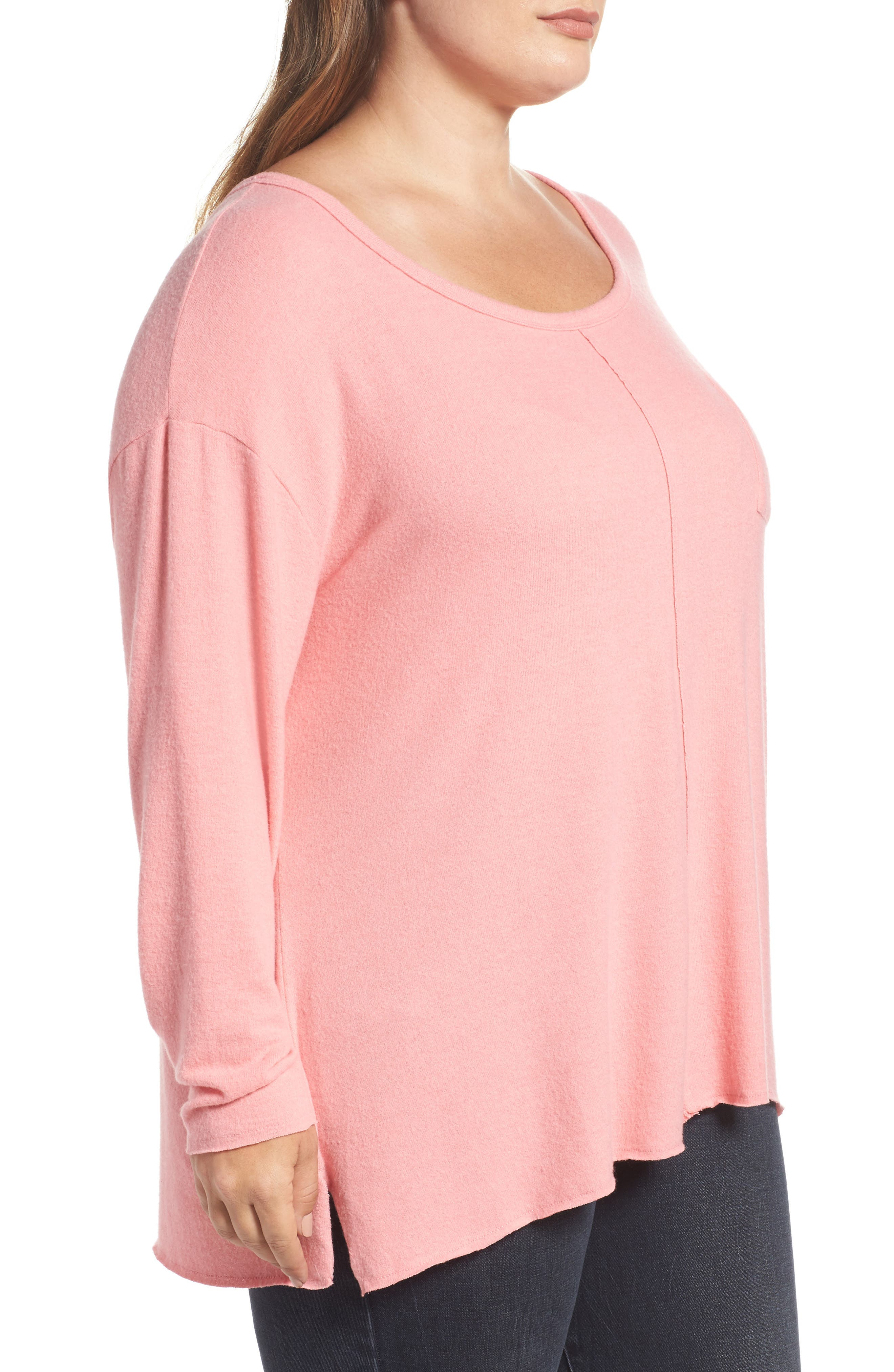 Drop Shoulder Pocket Top,                             Alternate thumbnail 9, color,