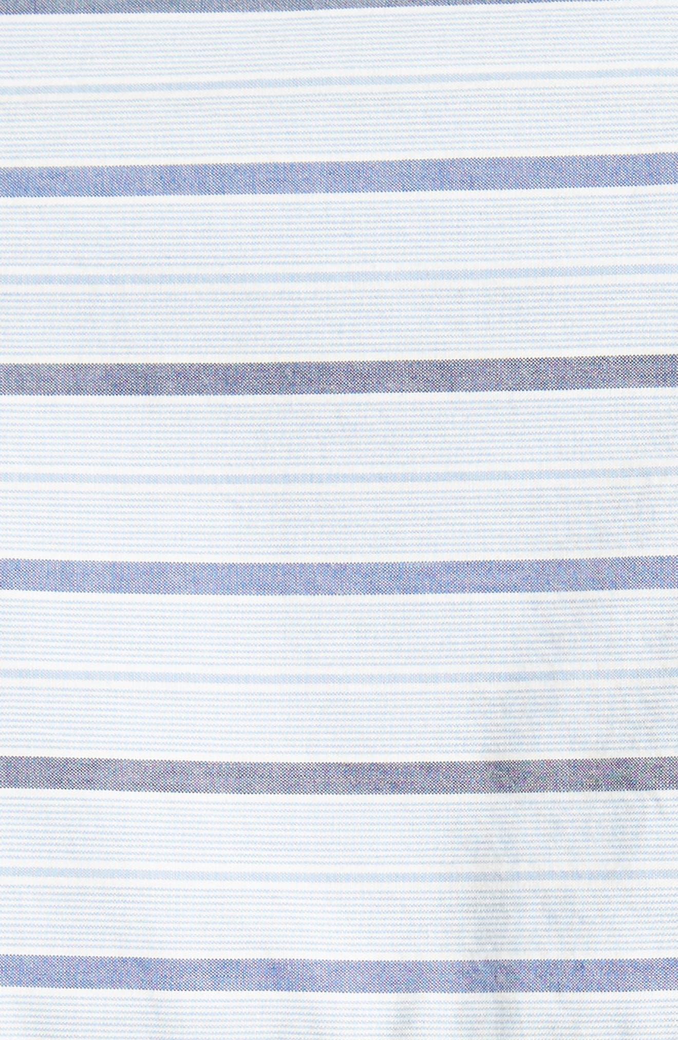 Garçon Stripe Easy Shirt,                             Alternate thumbnail 5, color,                             402