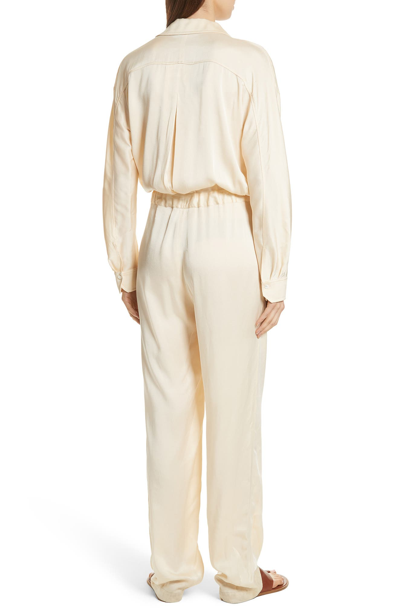 Cross Front Jumpsuit,                             Alternate thumbnail 4, color,