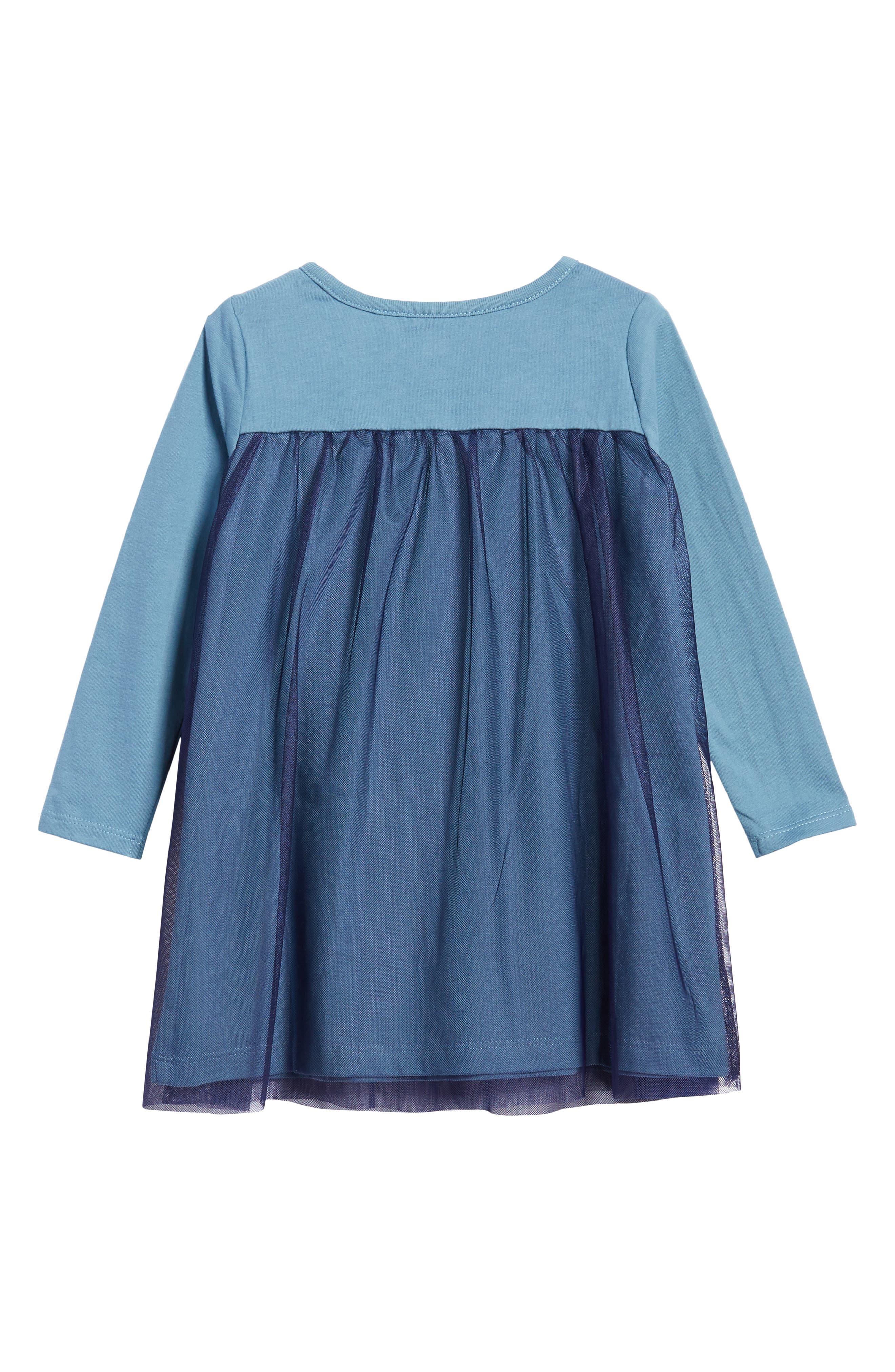 Mackenzie Tulle Dress,                             Alternate thumbnail 3, color,