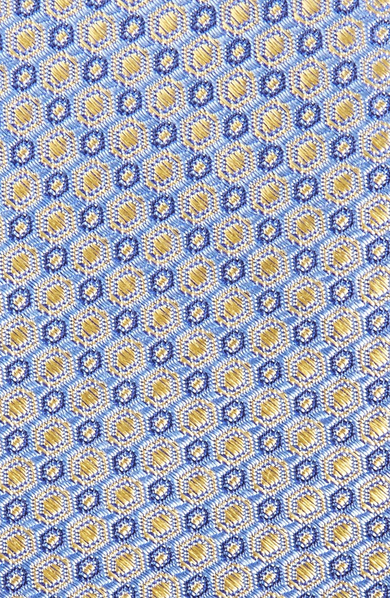 Optical Dot Silk Tie,                             Alternate thumbnail 8, color,