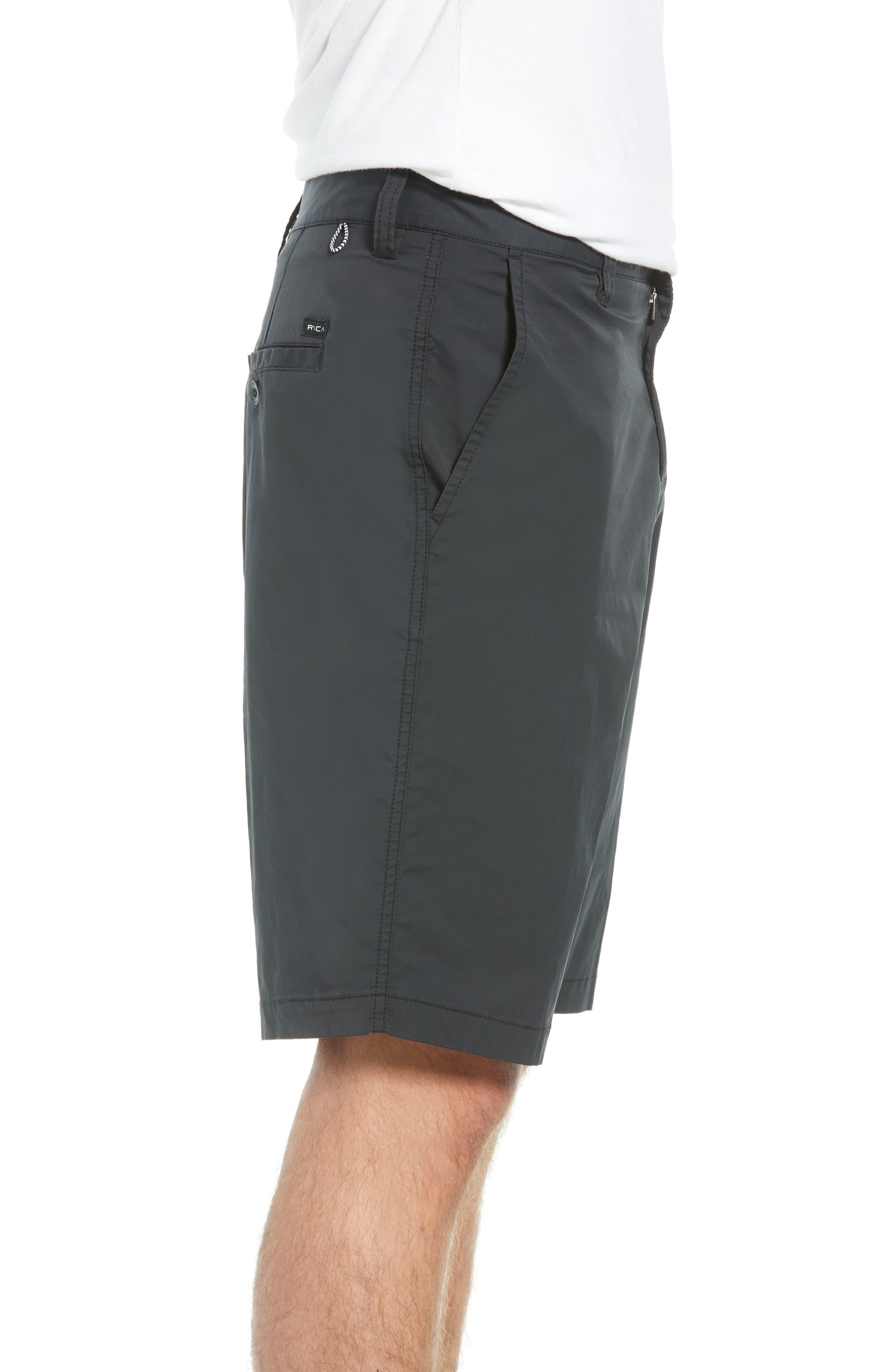 Weekend Hybrid II Shorts,                             Alternate thumbnail 3, color,                             001