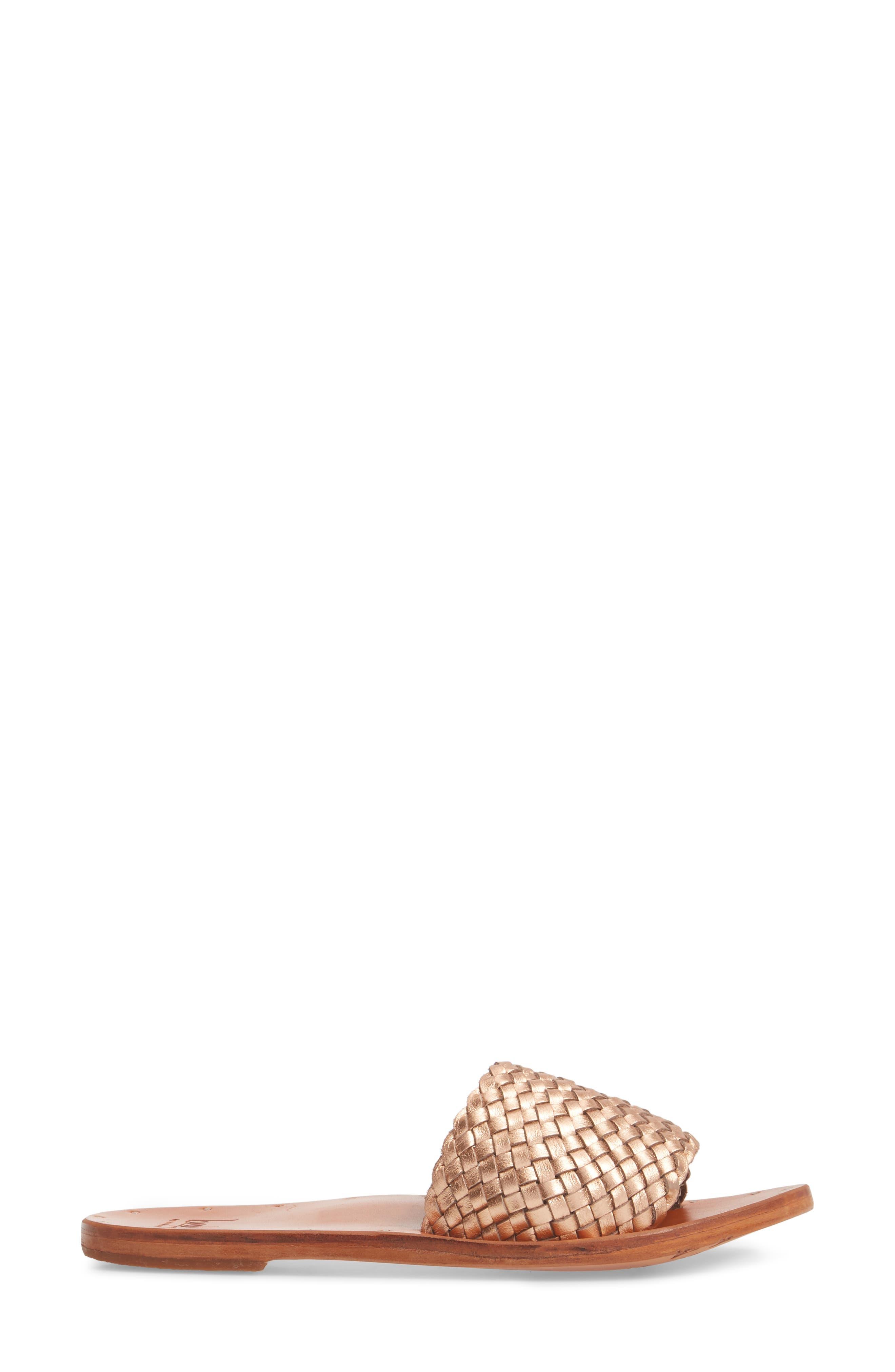 Osprey Woven Slide Sandal,                             Alternate thumbnail 3, color,                             710