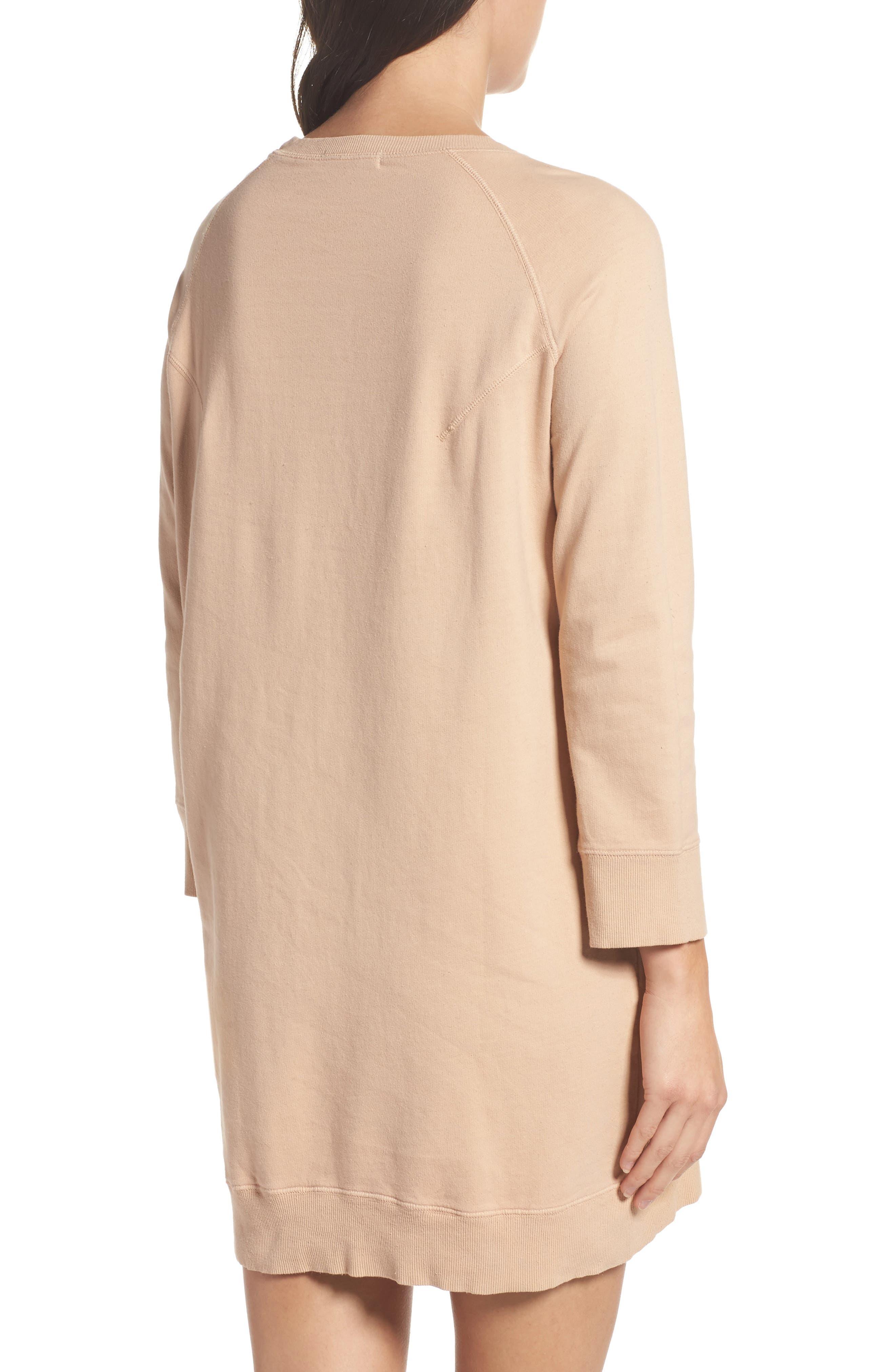 Sweatshirt Dress,                             Alternate thumbnail 2, color,                             950