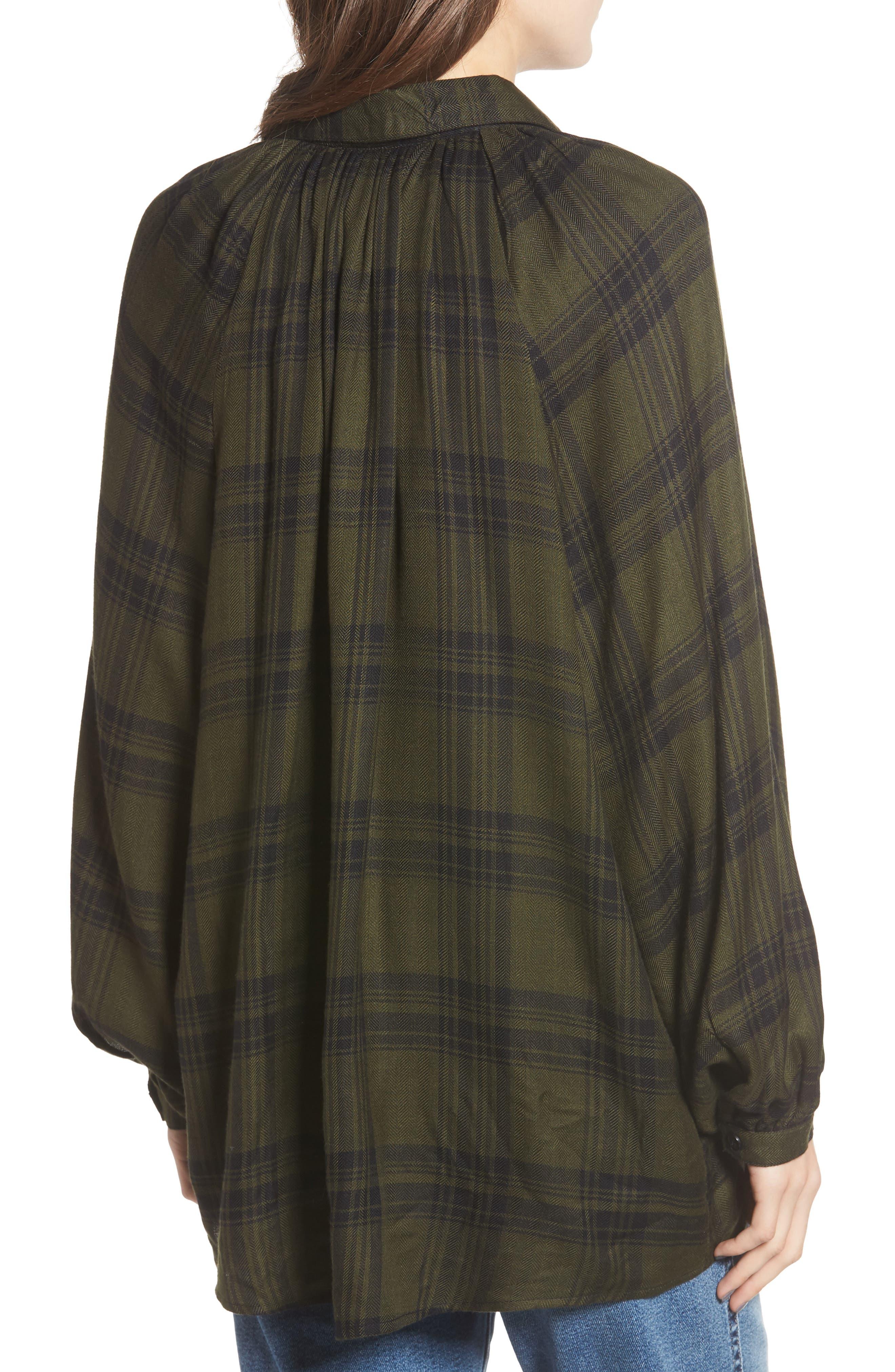 Fem Flannel Shirt,                             Alternate thumbnail 2, color,                             300