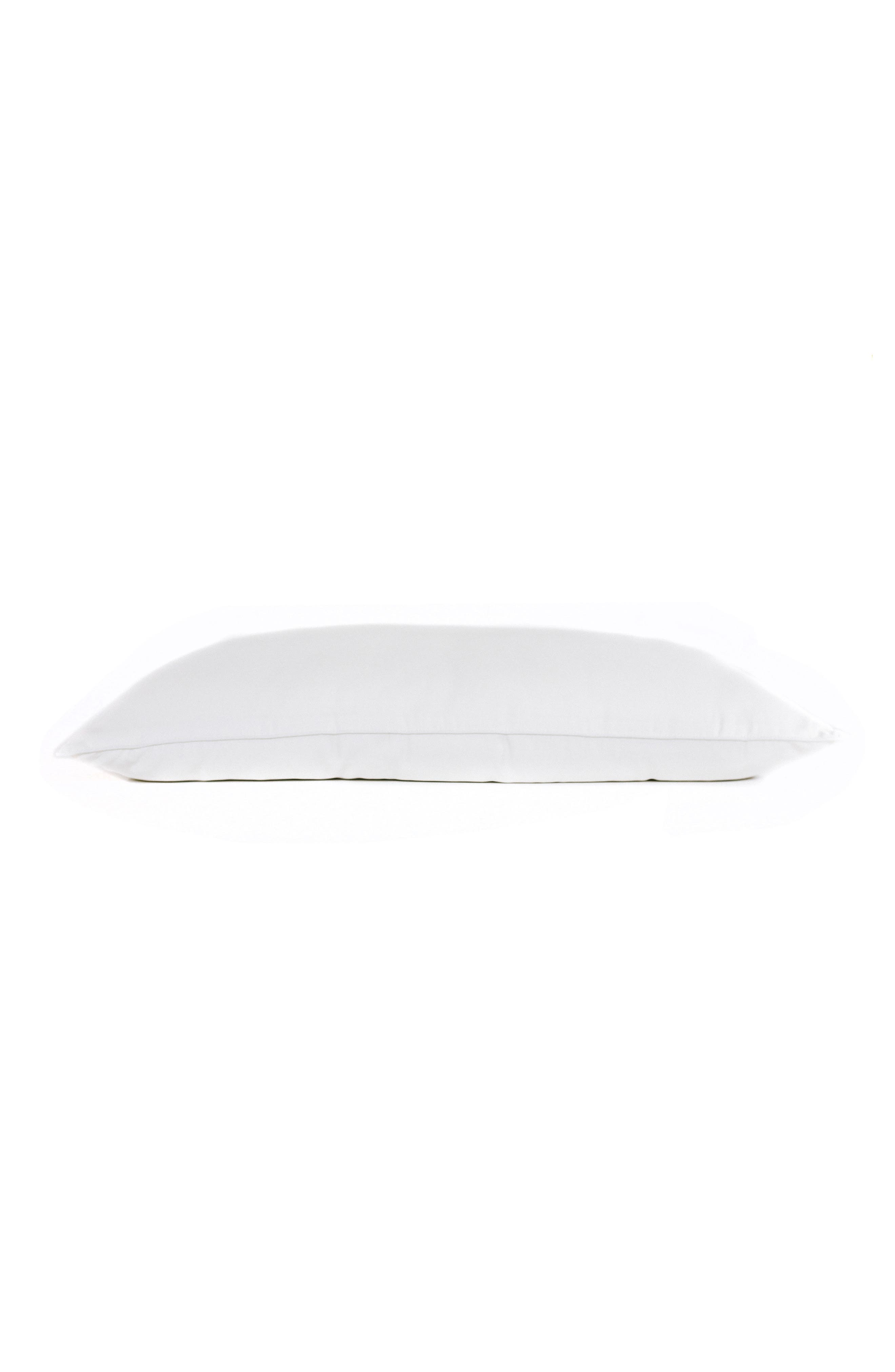 Pillow,                             Main thumbnail 1, color,                             WHITE