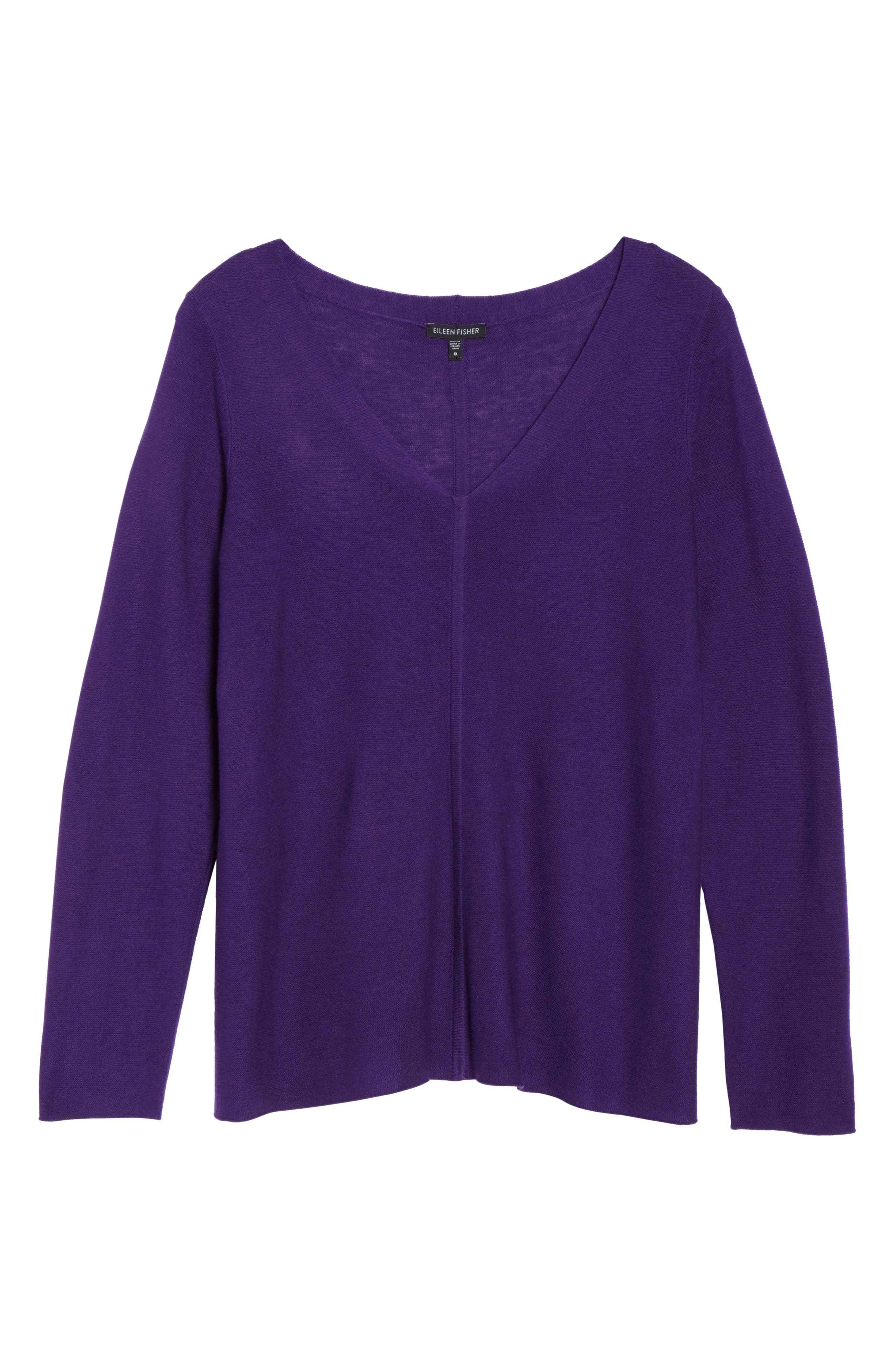 V-Neck Sweater,                             Alternate thumbnail 29, color,