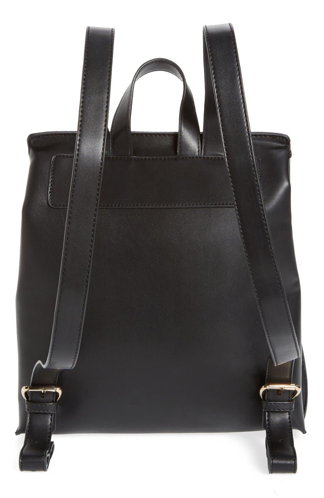 Selena Faux Leather Backpack,                             Alternate thumbnail 28, color,