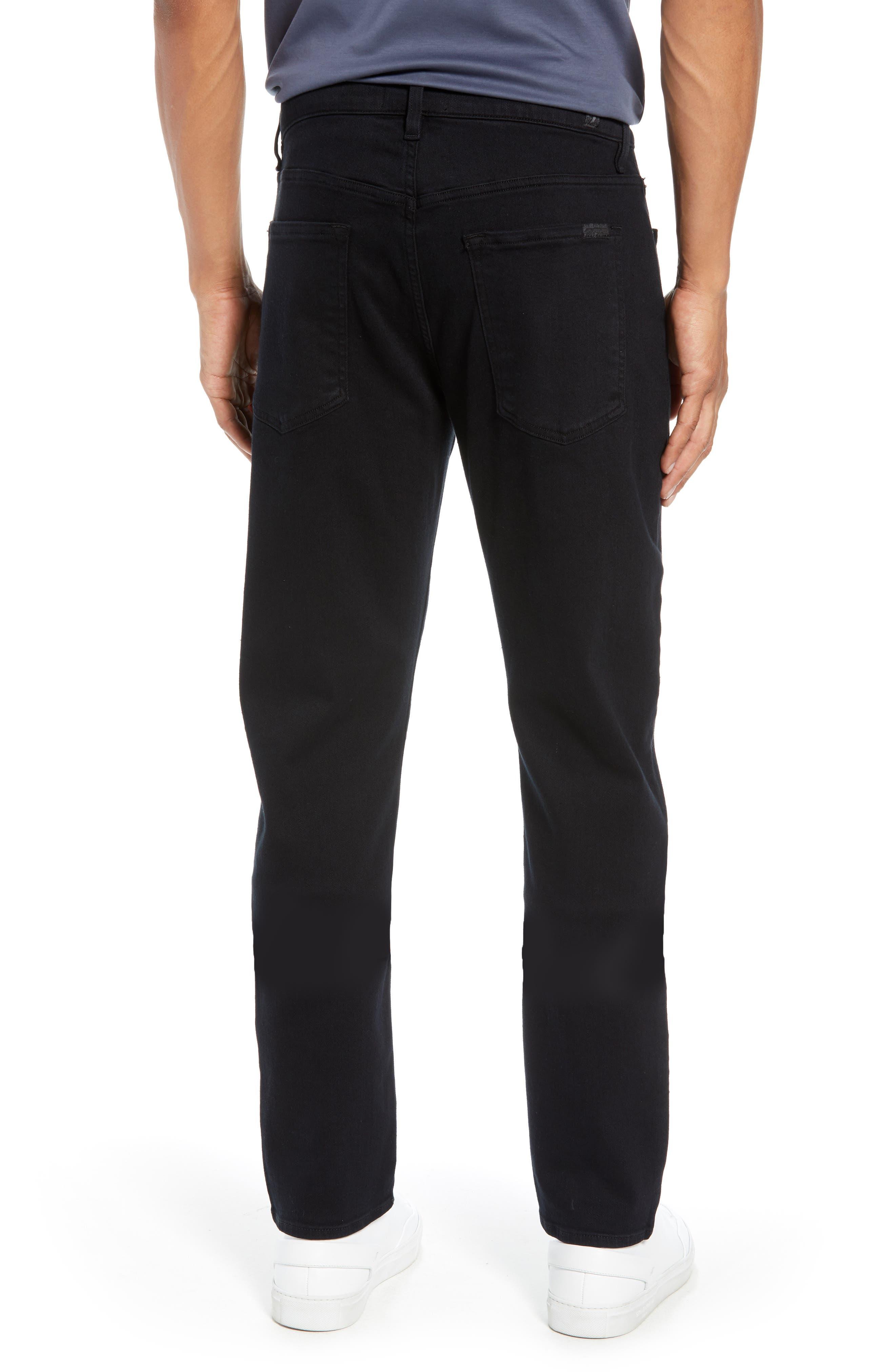Adrien Slim Fit Straight Leg Jeans,                             Alternate thumbnail 2, color,                             AUTHENTIC BLACK
