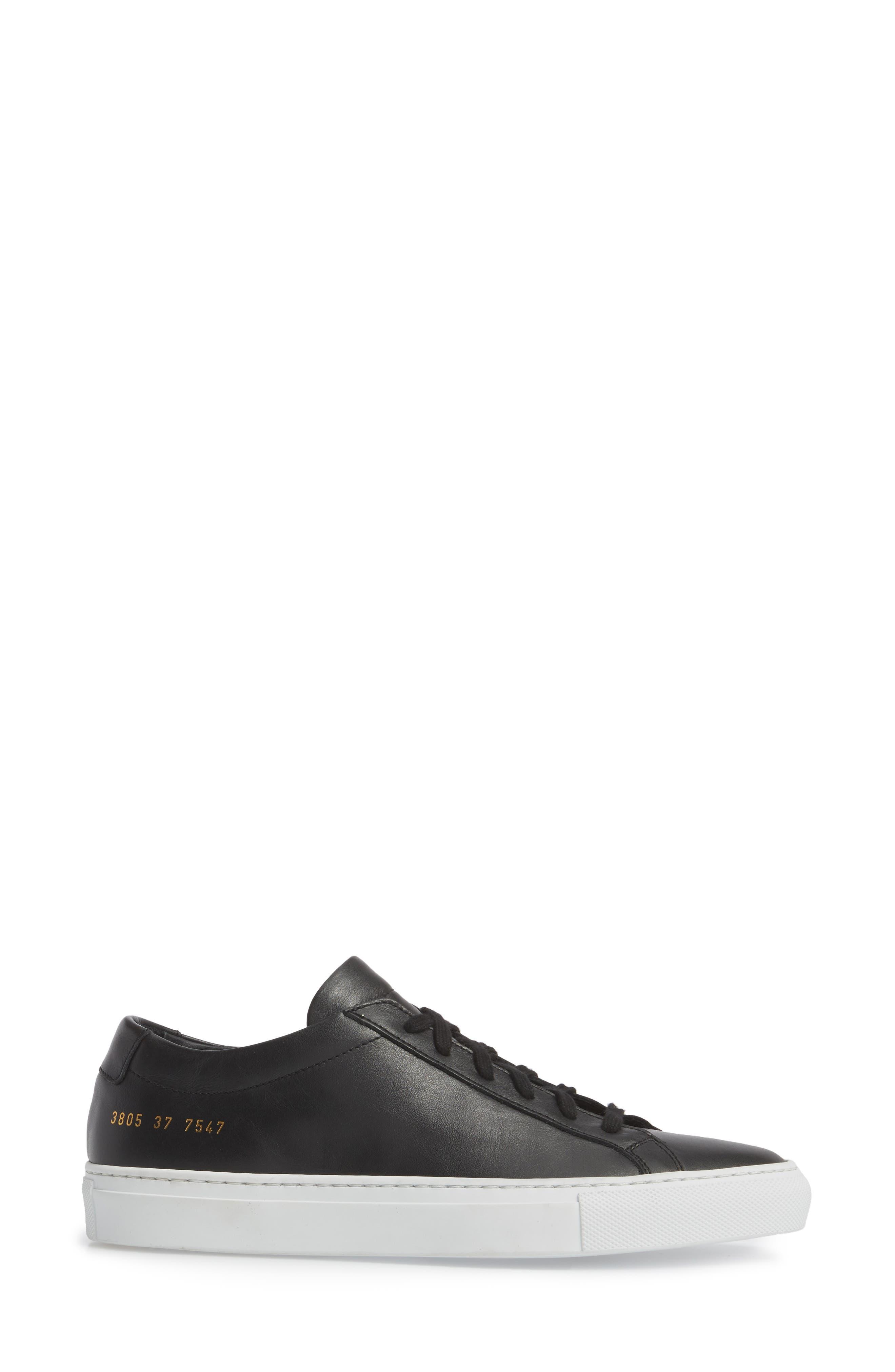 Original Achilles Low Sneaker,                             Alternate thumbnail 3, color,                             BLACK
