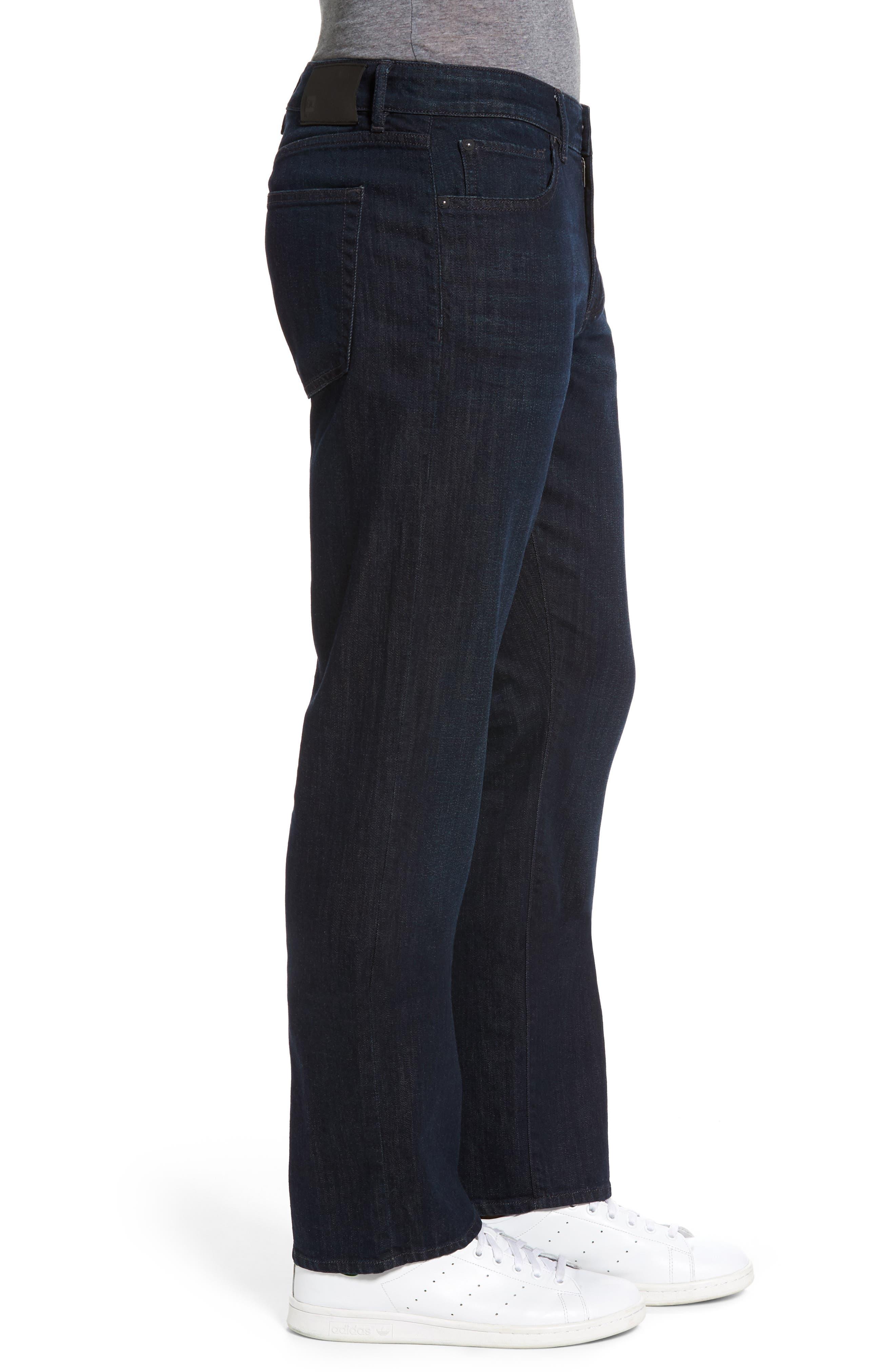 Avery Slim Straight Leg Jeans,                             Alternate thumbnail 3, color,                             426
