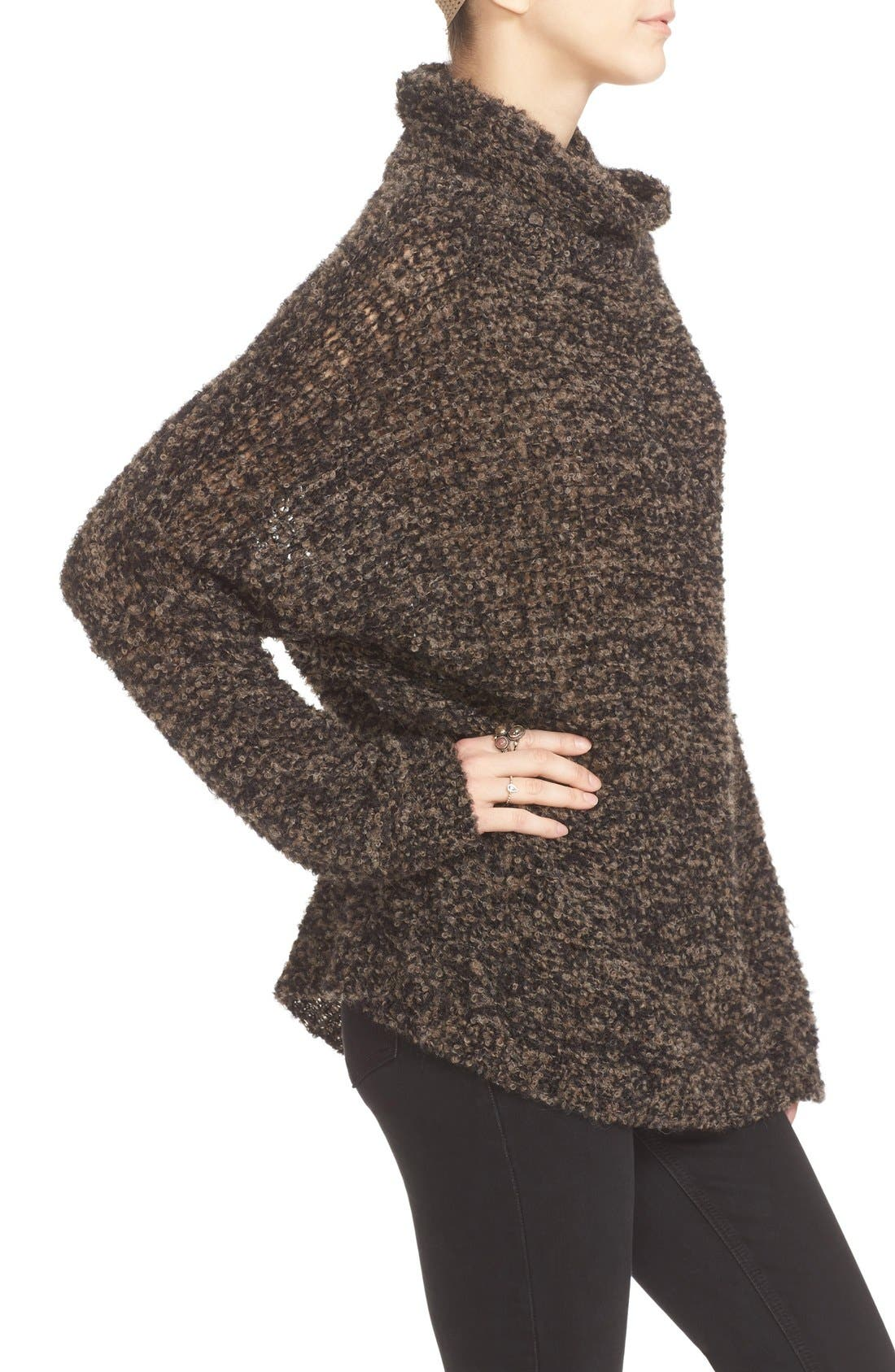 'She's All That' Knit Turtleneck Sweater,                             Alternate thumbnail 17, color,