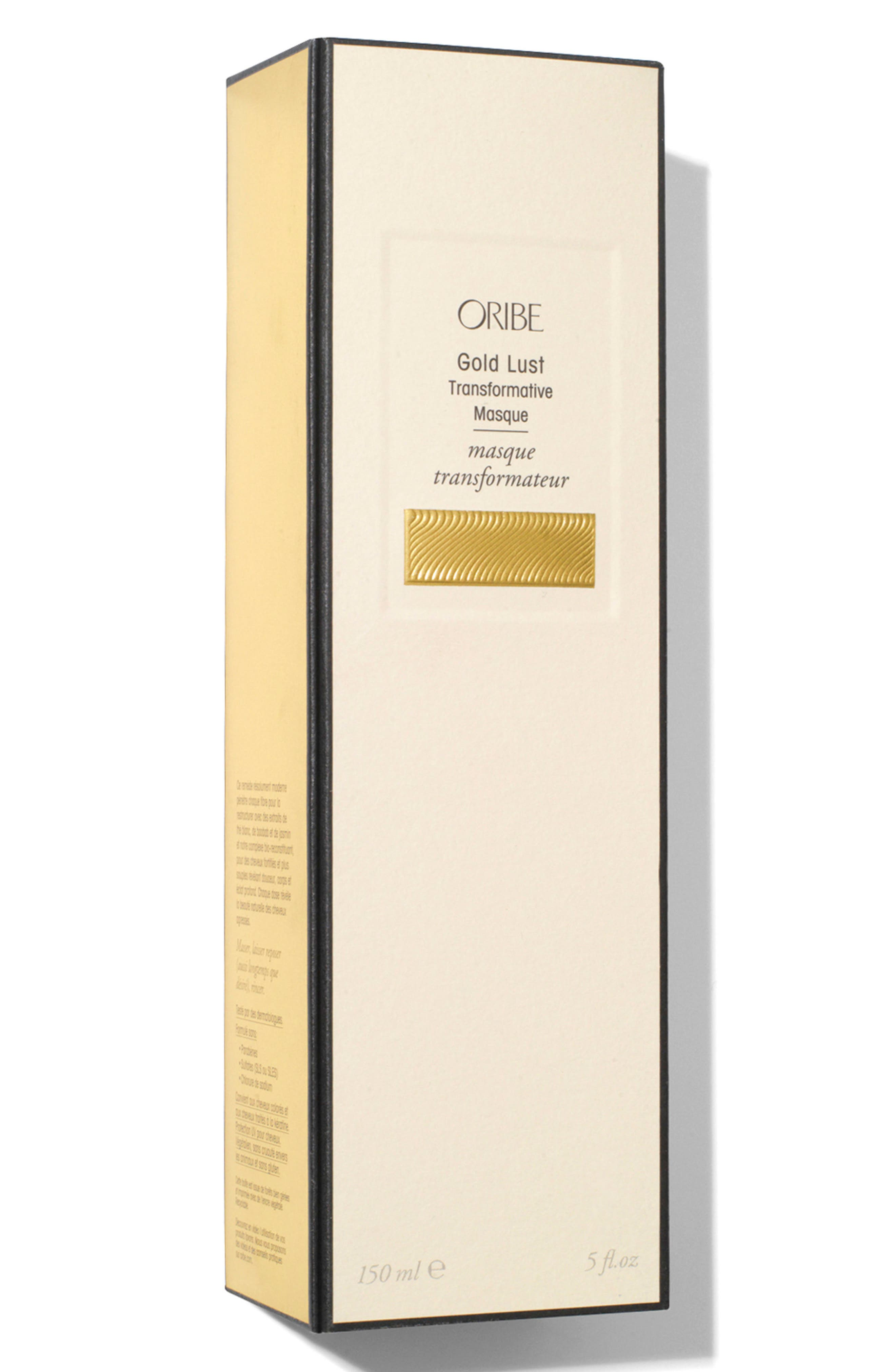 SPACE.NK.apothecary Oribe Gold Lust Transformative Masque,                             Alternate thumbnail 2, color,                             NO COLOR