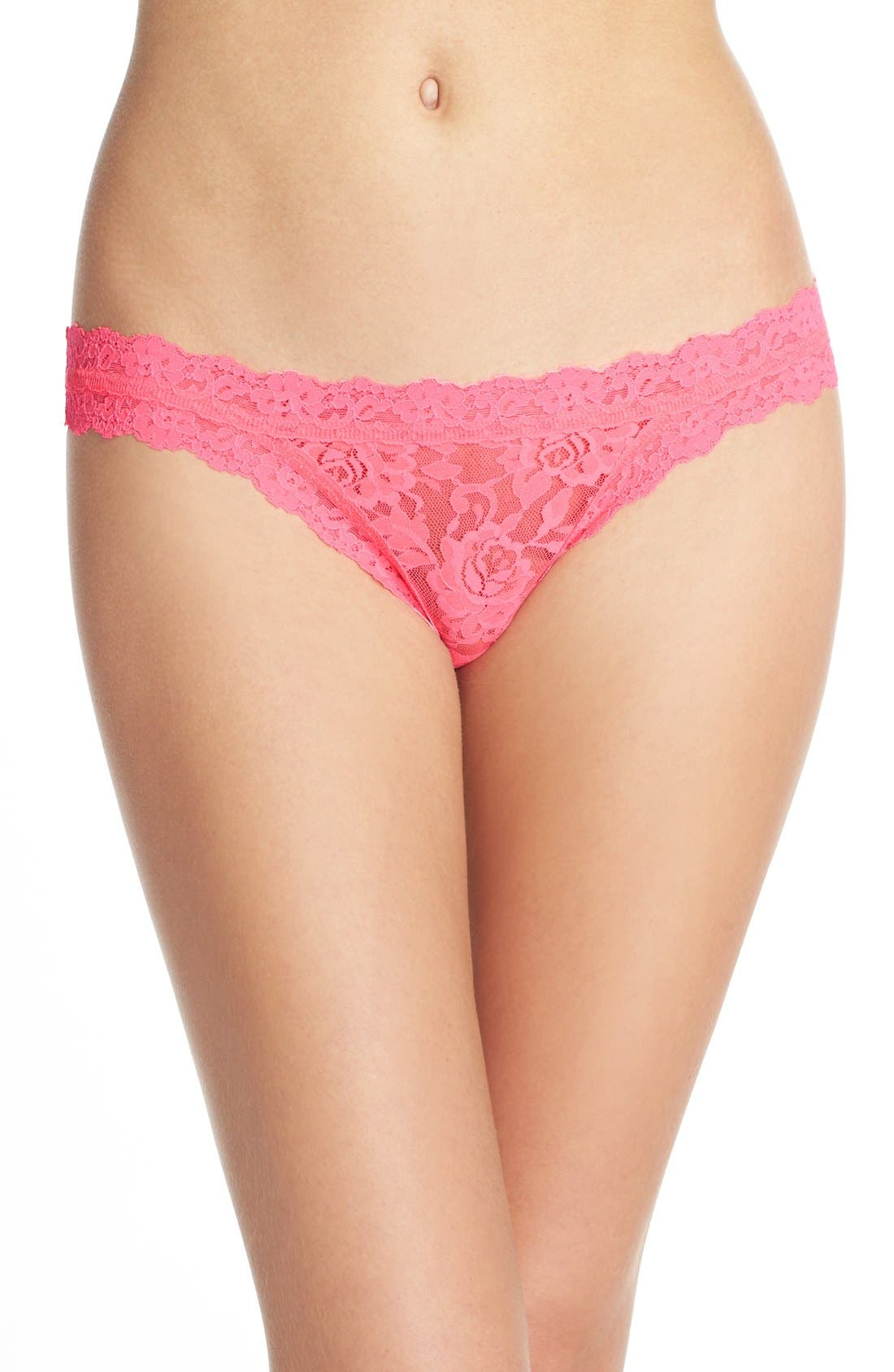 'Signature Lace' Brazilian Bikini,                             Main thumbnail 24, color,