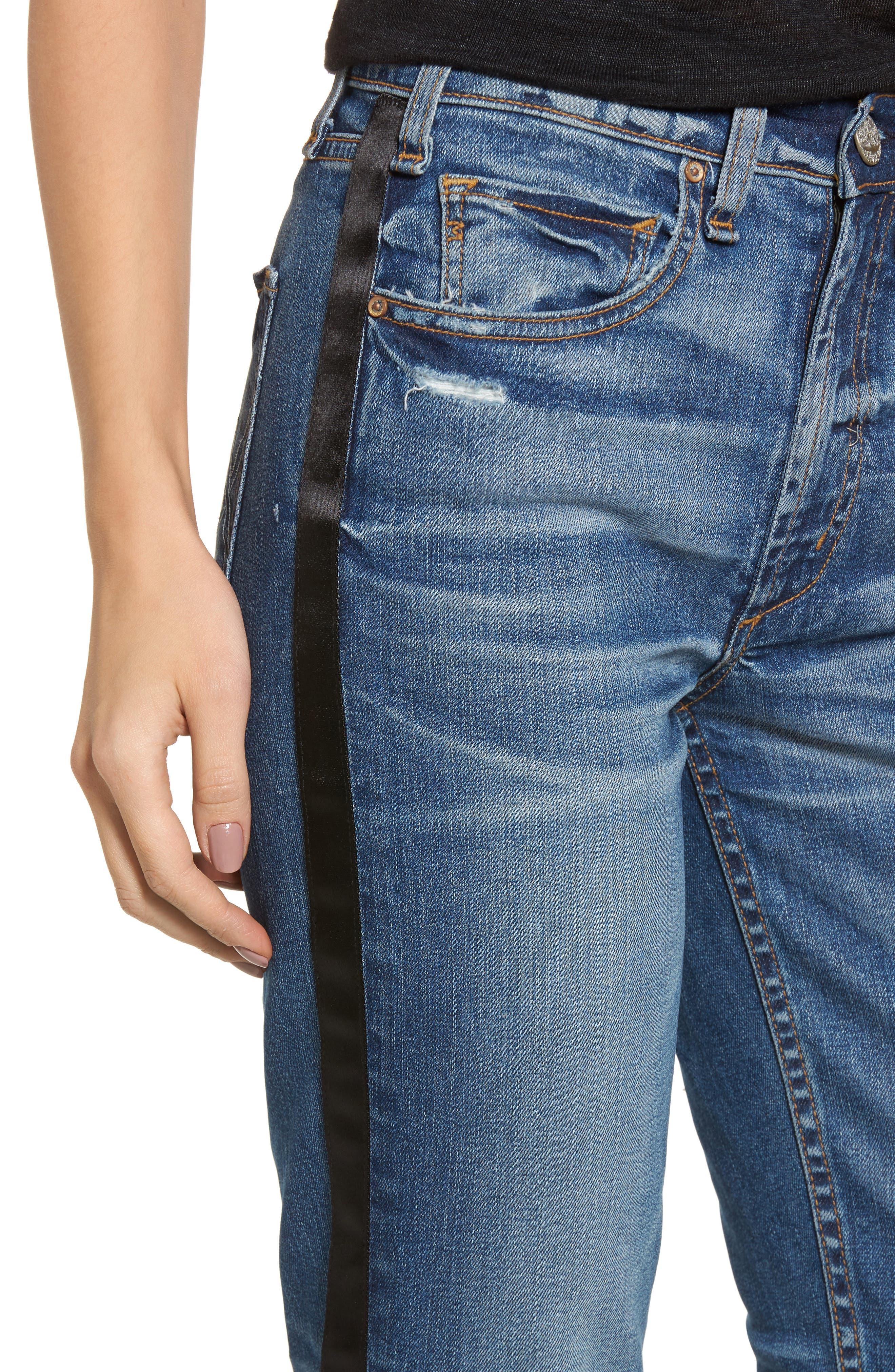 Vintage Slim Ankle Jeans,                             Alternate thumbnail 4, color,