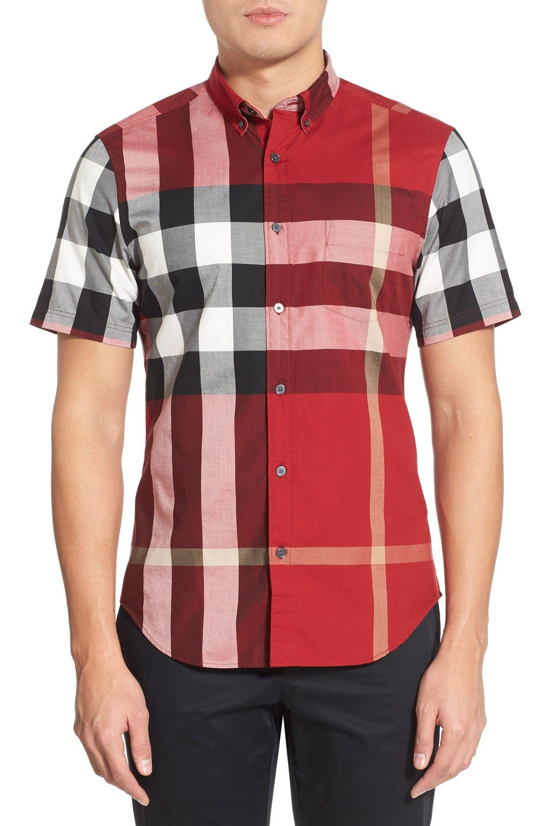 Nelson Check Sport Shirt,                             Main thumbnail 24, color,