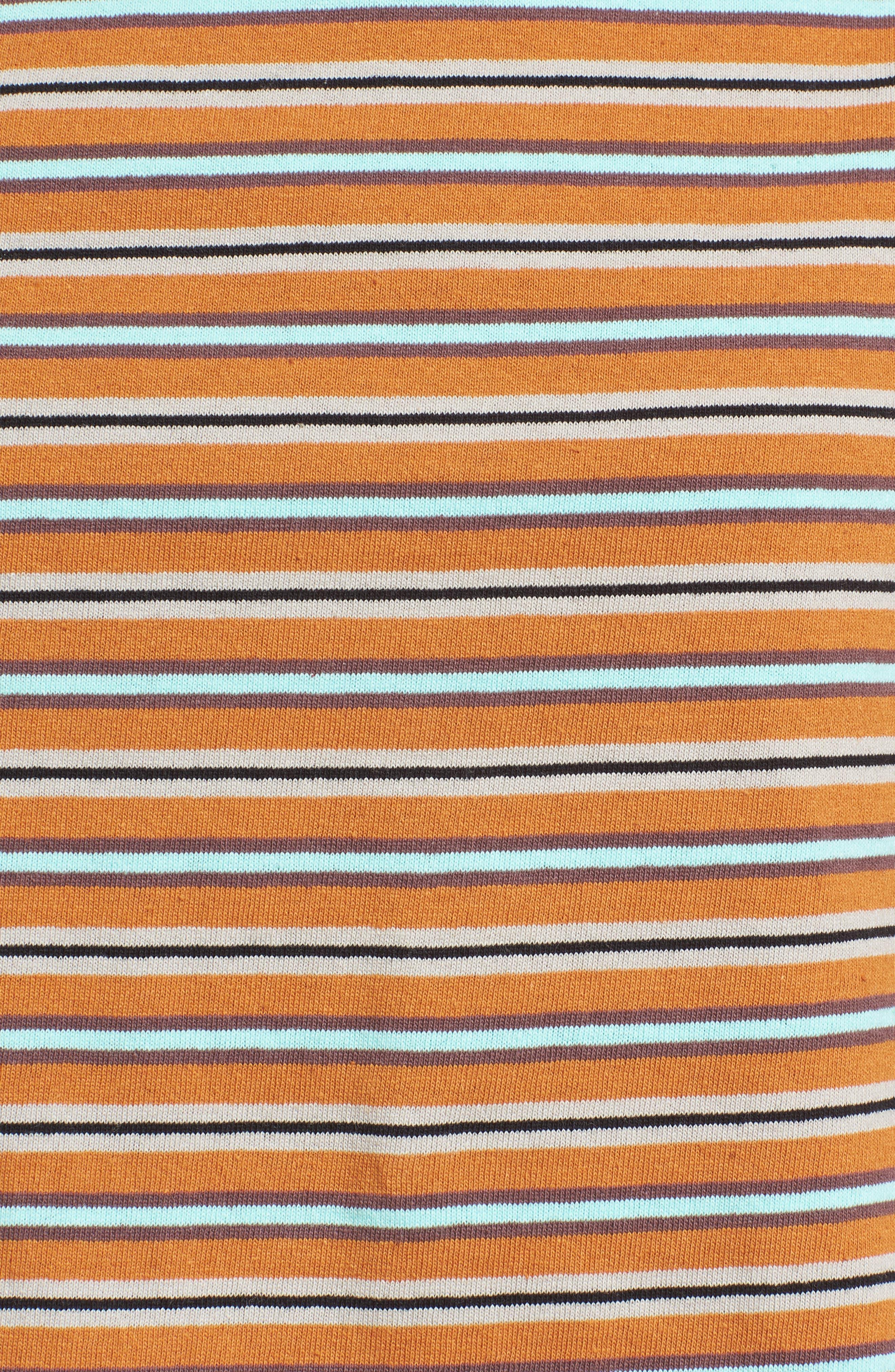 Stripe Crop Tee,                             Alternate thumbnail 15, color,