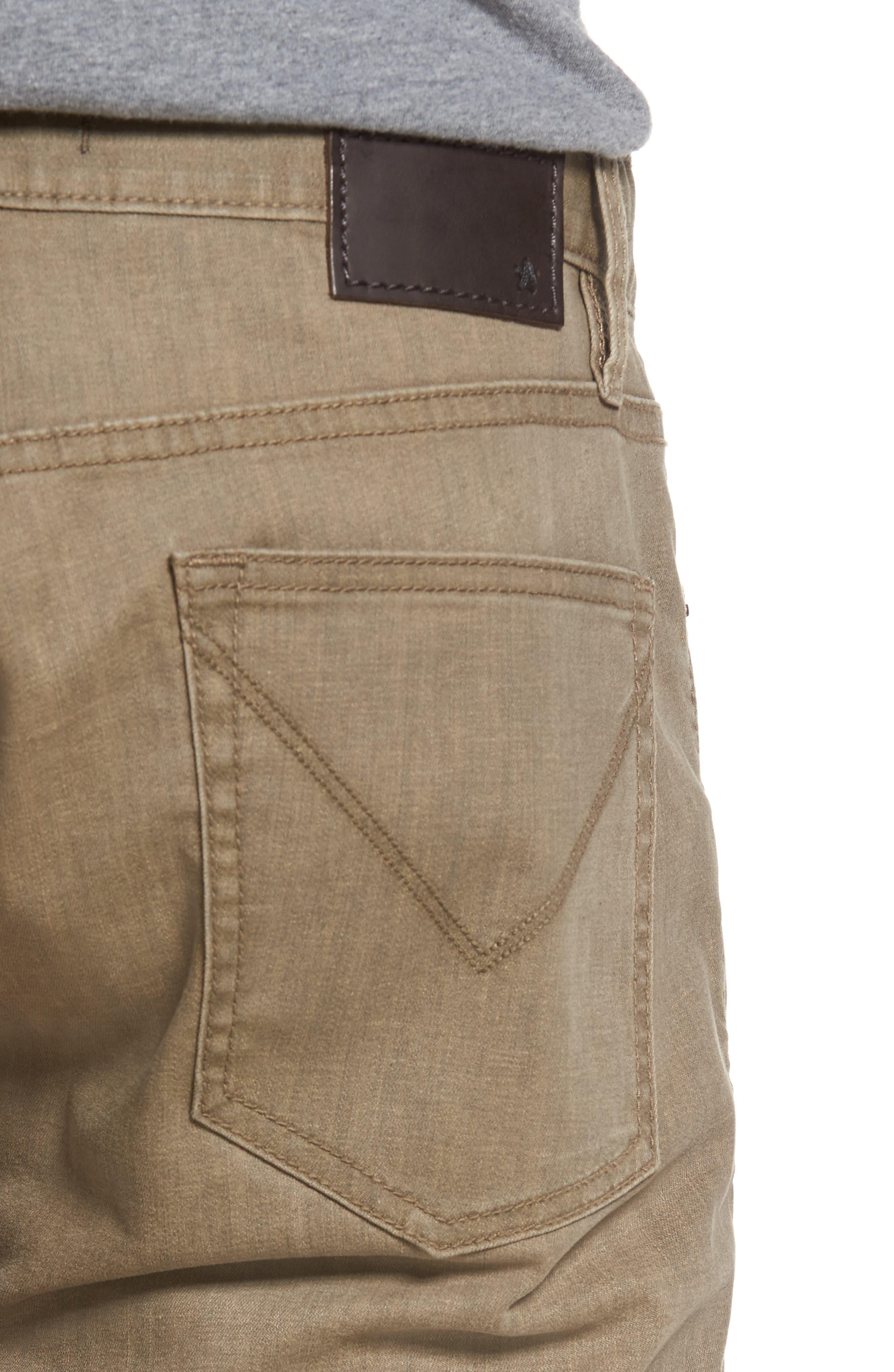 Bowery Slim Straight Leg Jeans,                             Alternate thumbnail 12, color,