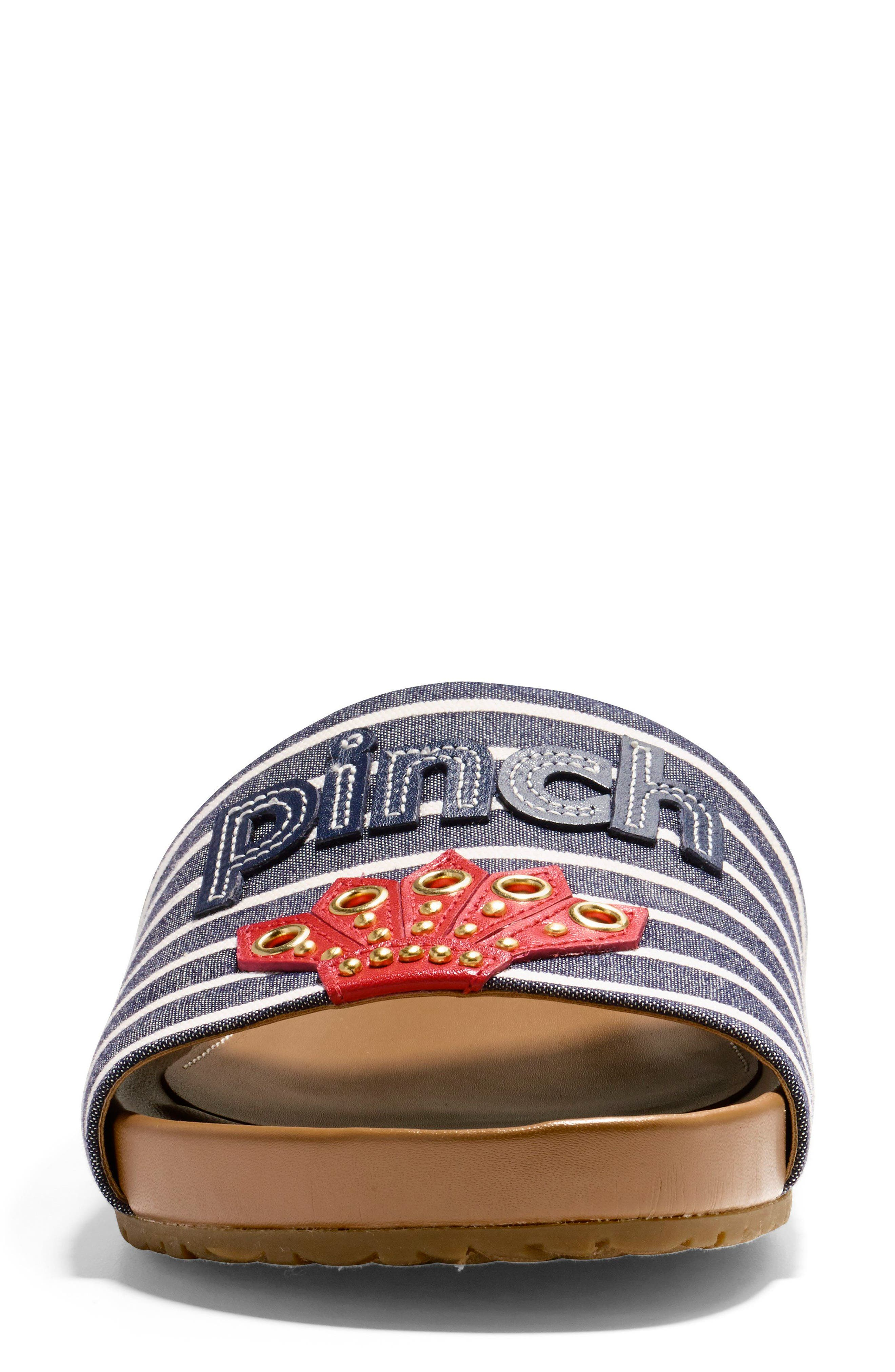 Pinch Montauk Lobster Slide Sandal,                             Alternate thumbnail 11, color,