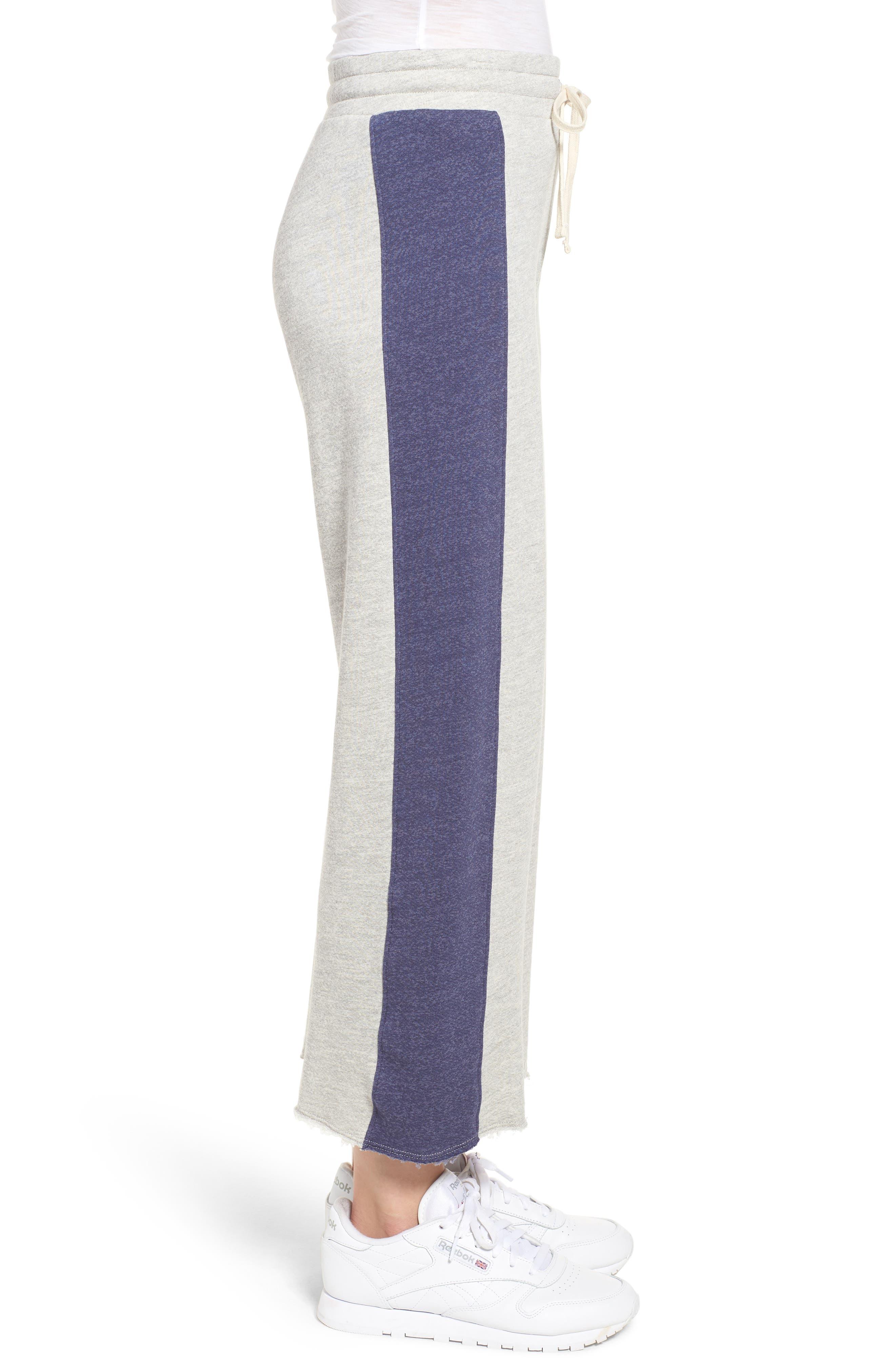 Terry Colorblock Sweatpants,                             Alternate thumbnail 3, color,