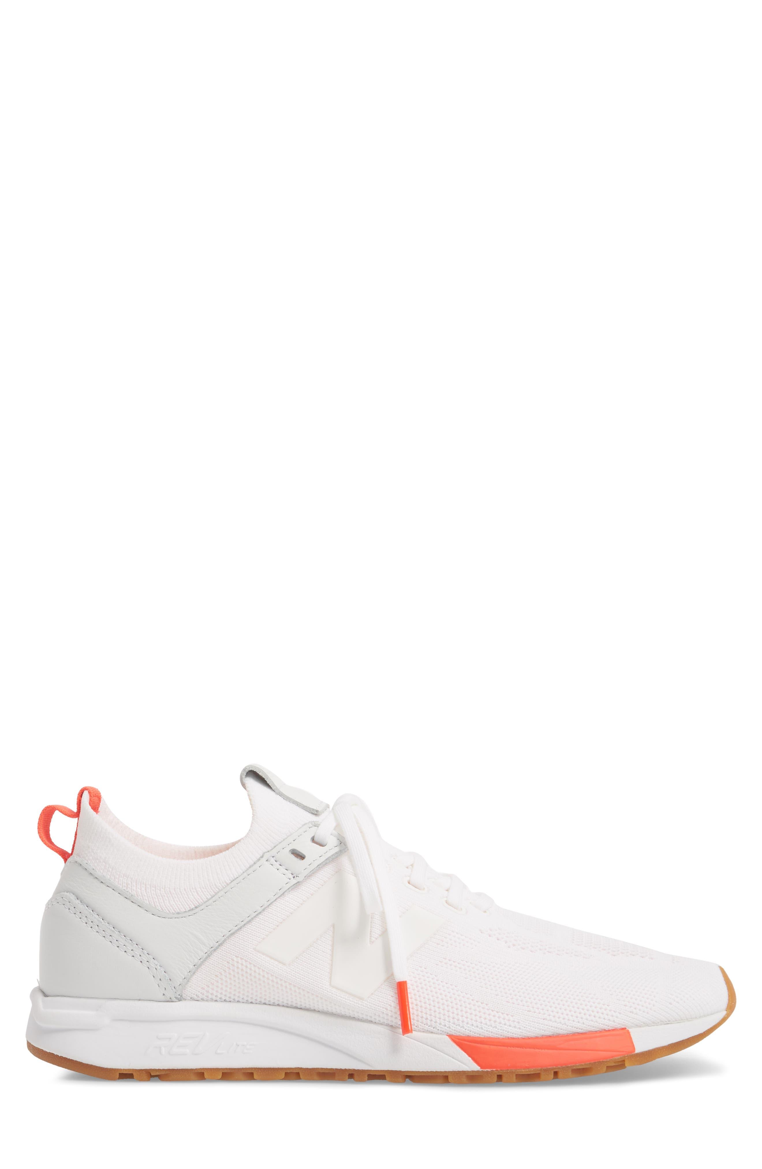 247 Sneaker,                             Alternate thumbnail 3, color,                             WHITE