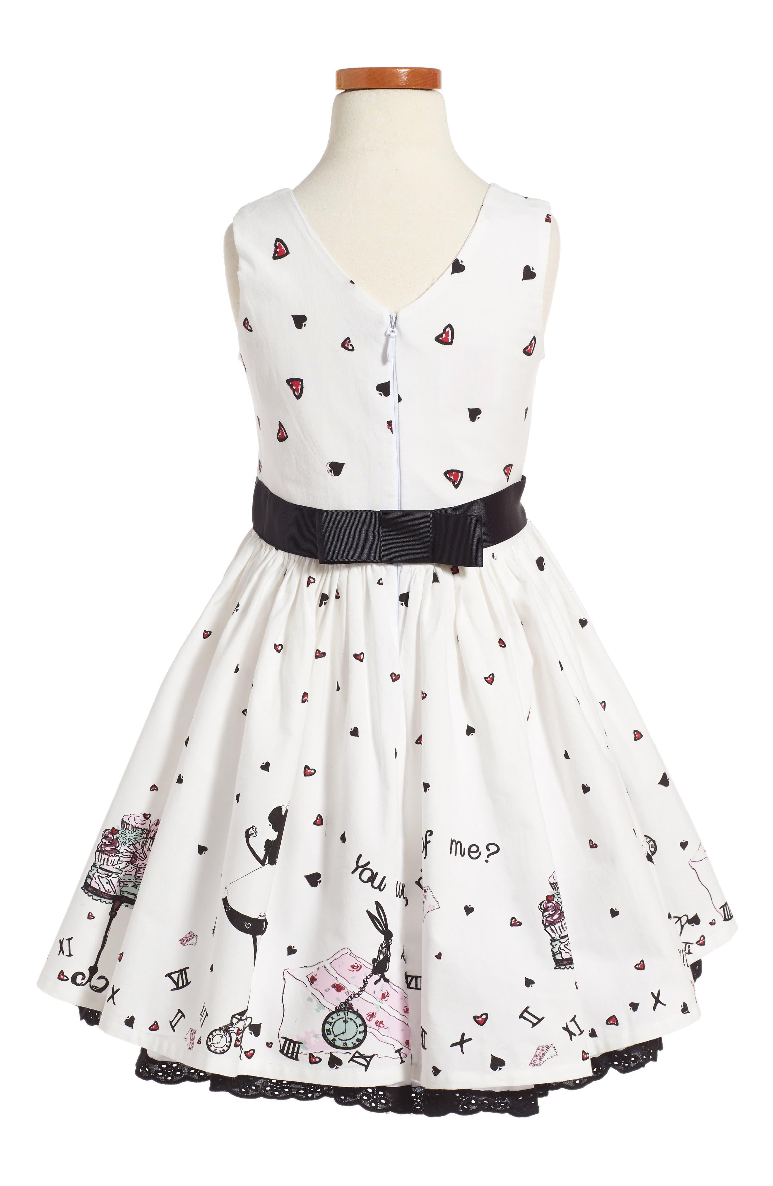 Alice Party Dress,                             Alternate thumbnail 2, color,                             900