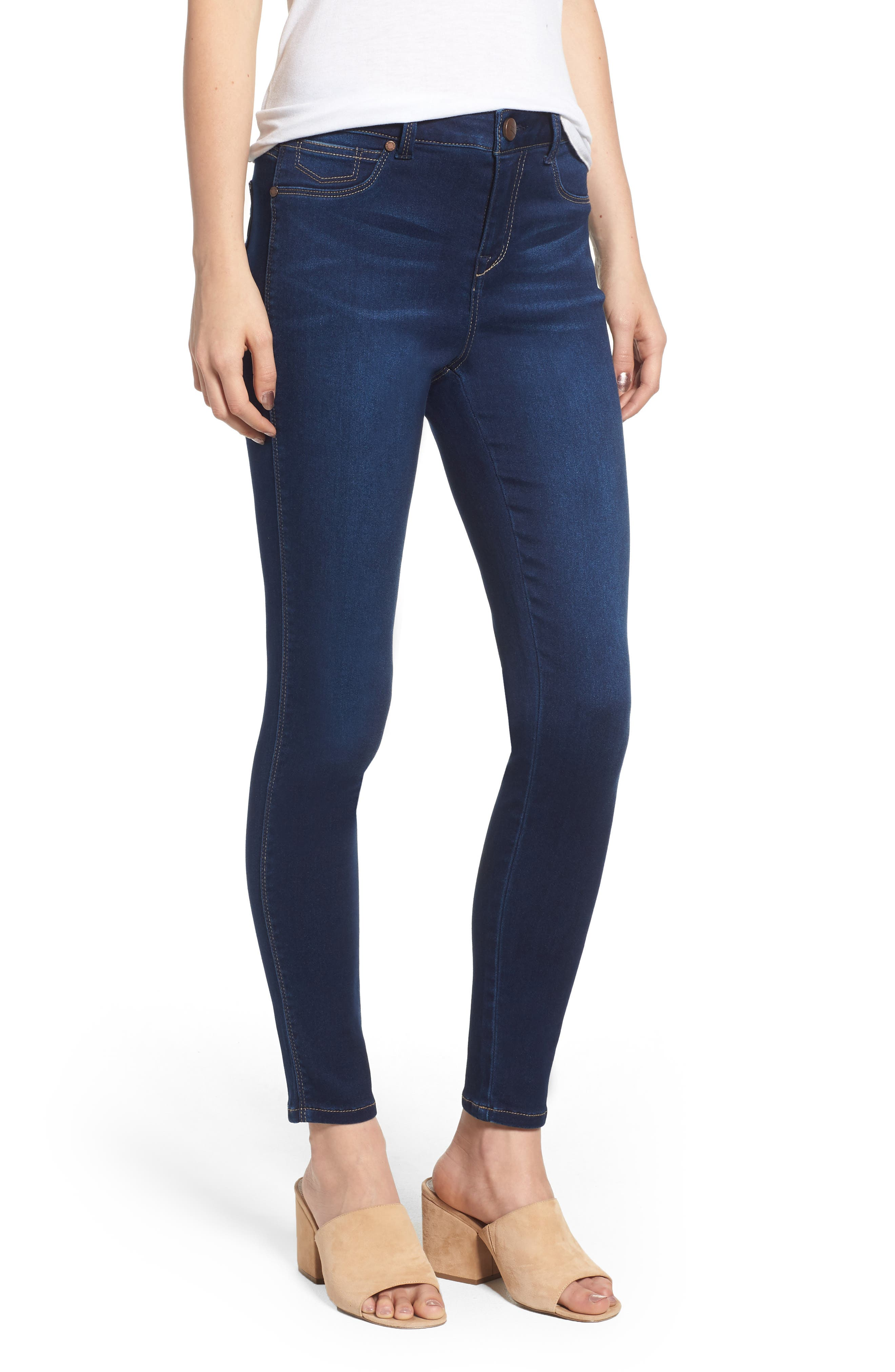 Butter High Rise Skinny Ankle Jeans,                         Main,                         color, RAQUEL