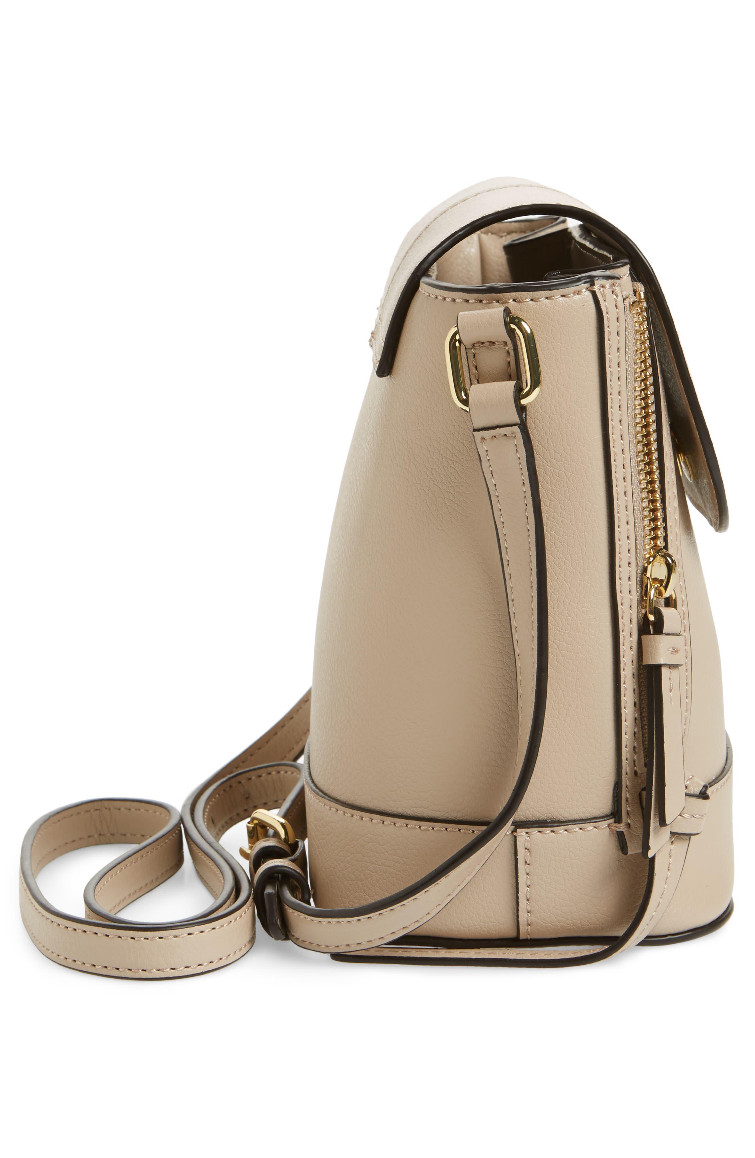 Beckett Leather Crossbody Bag,                             Alternate thumbnail 5, color,                             250