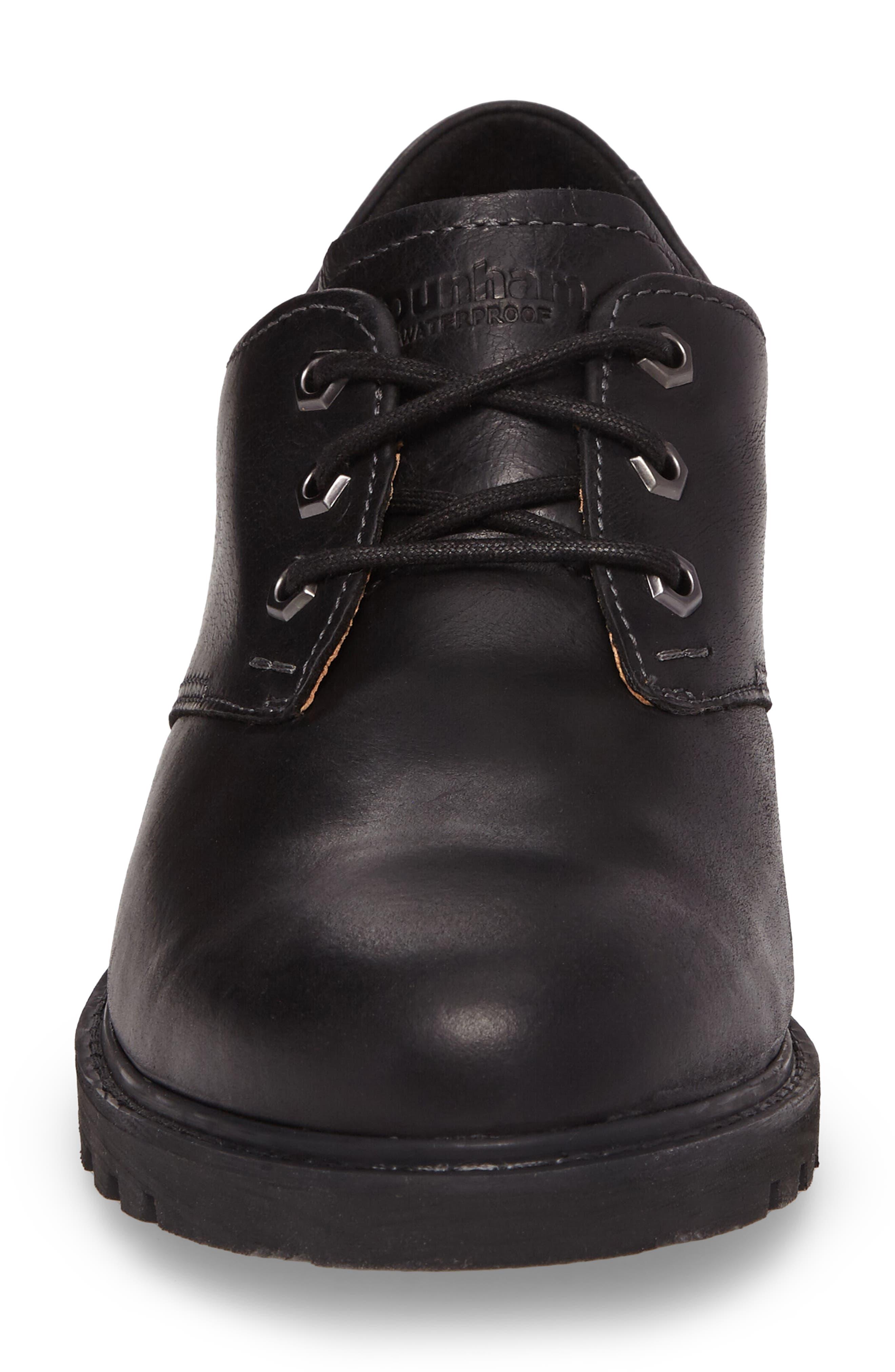 Royalton Plain Toe Derby,                             Alternate thumbnail 4, color,                             BLACK