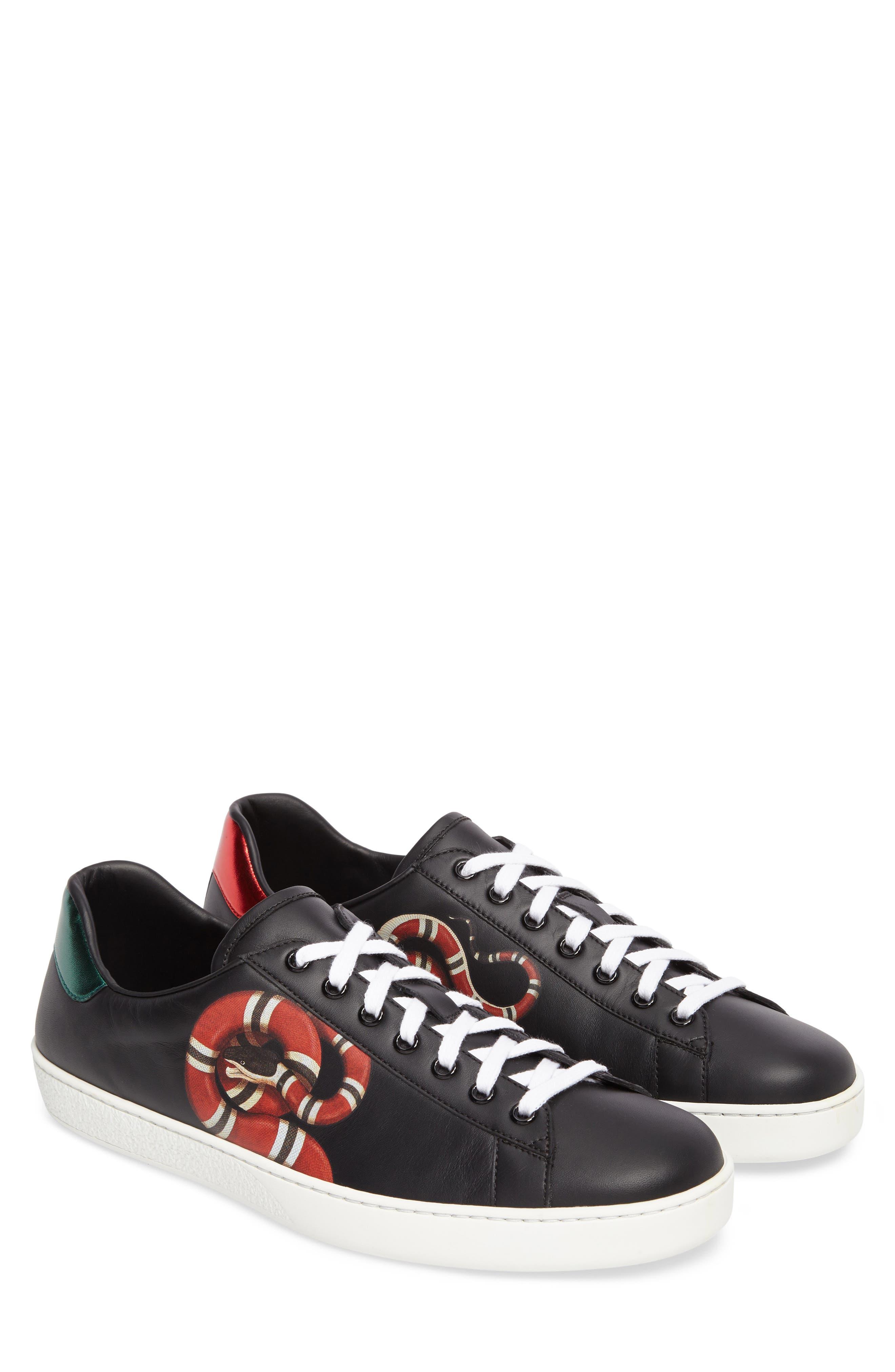 New Ace Kingsnake Print Sneaker,                         Main,                         color,