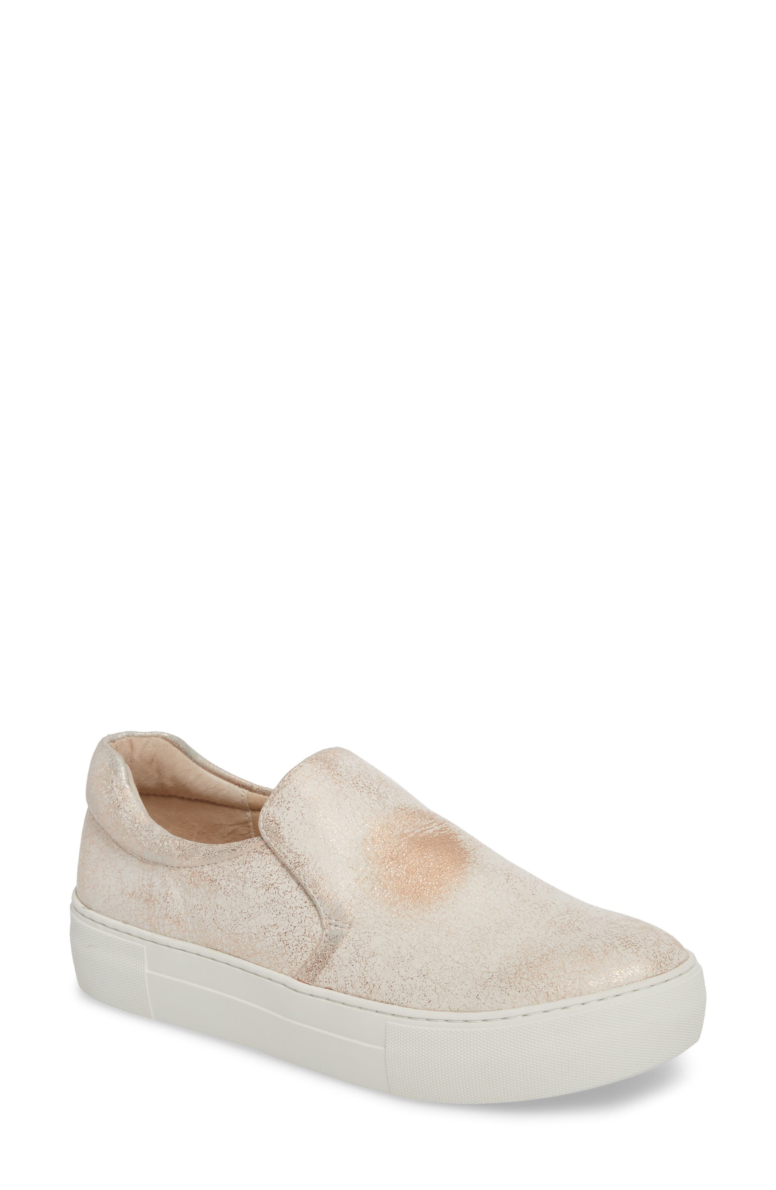 Acer Slip-On Sneaker,                             Main thumbnail 1, color,                             SOFT PINK SUEDE