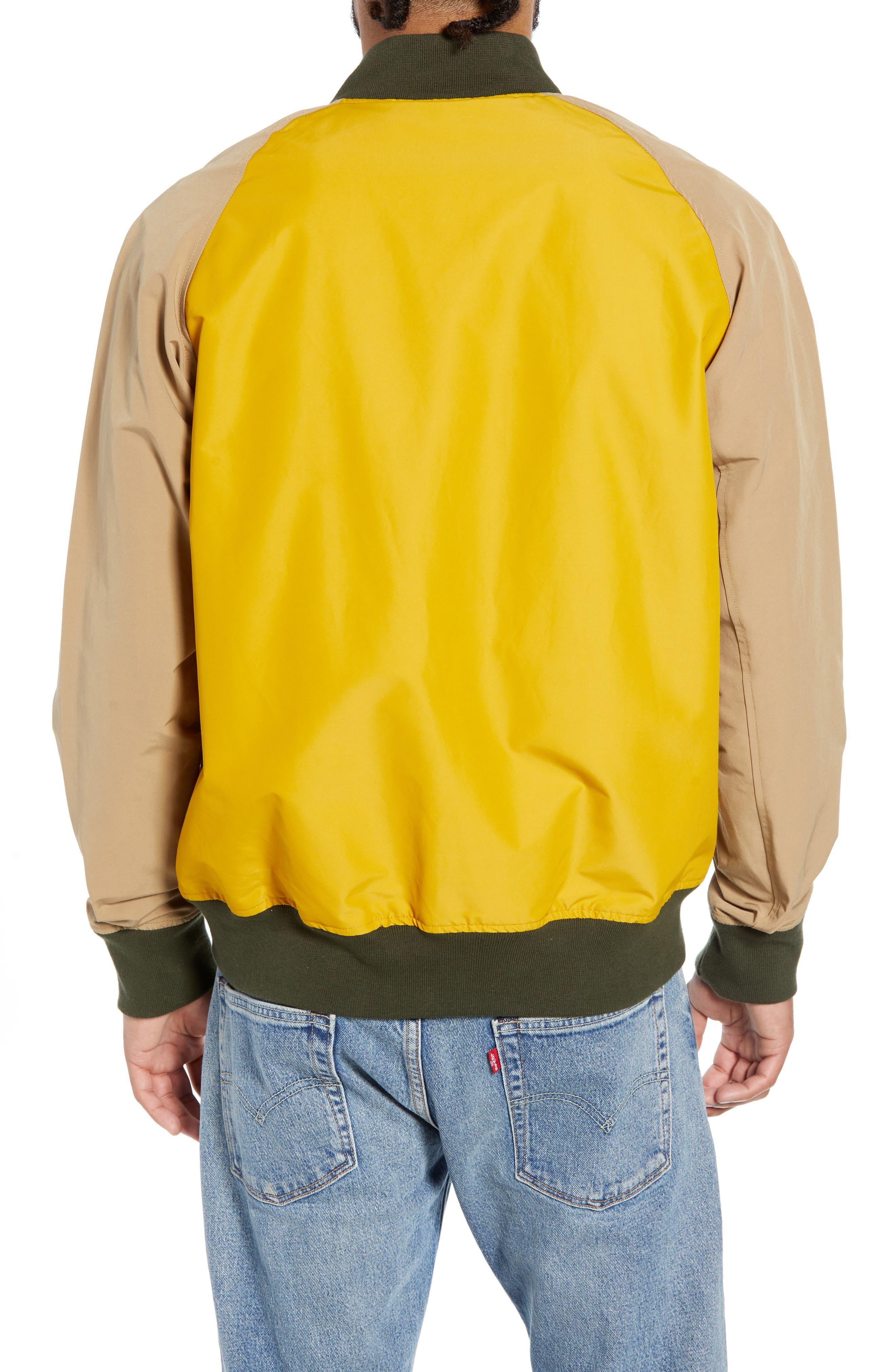 Varsity Jacket,                             Alternate thumbnail 2, color,                             ARROWWOOD/ KHAKI