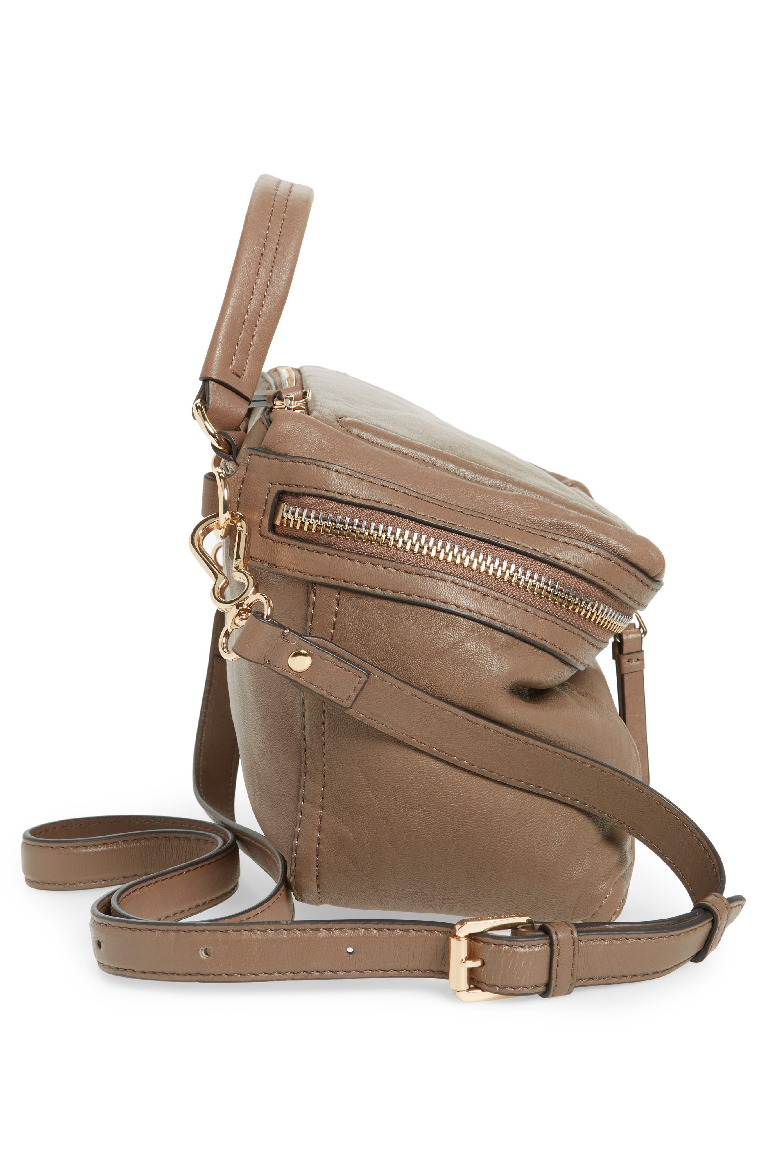 Medium Patch Leather Crossbody Bag,                             Alternate thumbnail 10, color,