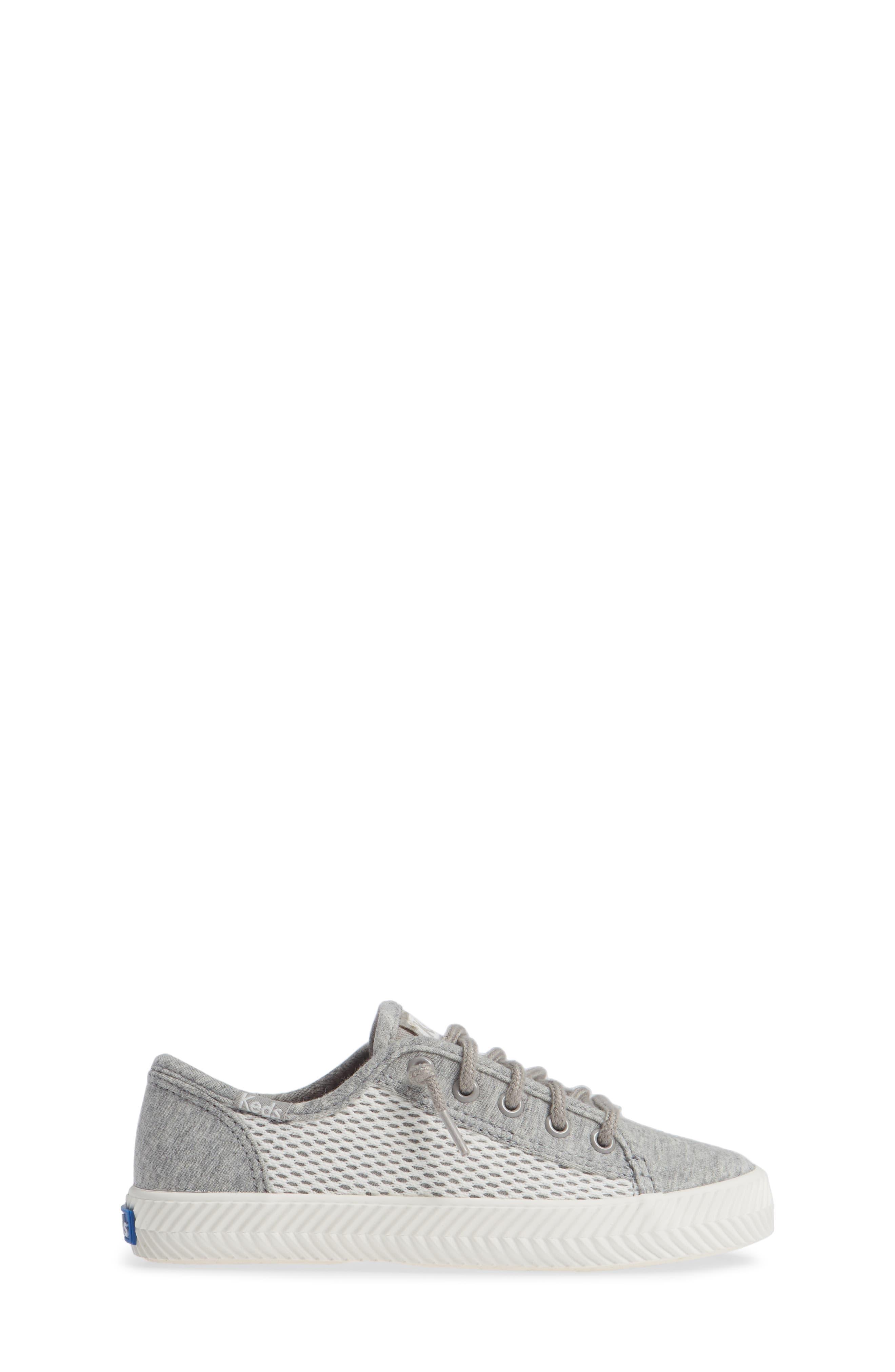 Kickstart Herringbone Mesh Sneaker,                             Alternate thumbnail 3, color,                             050