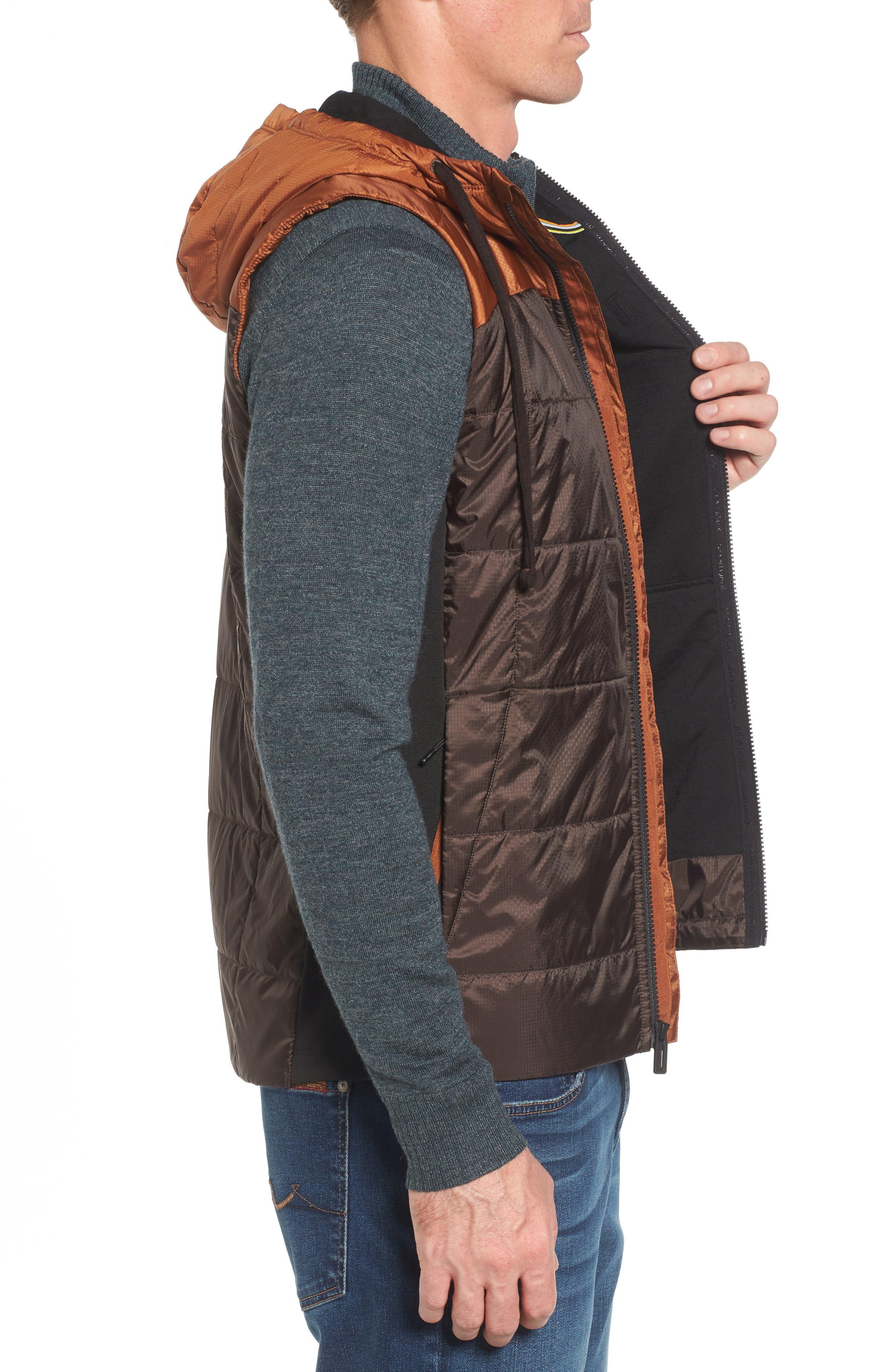 Double Propulsion Hooded Vest,                             Alternate thumbnail 3, color,                             200