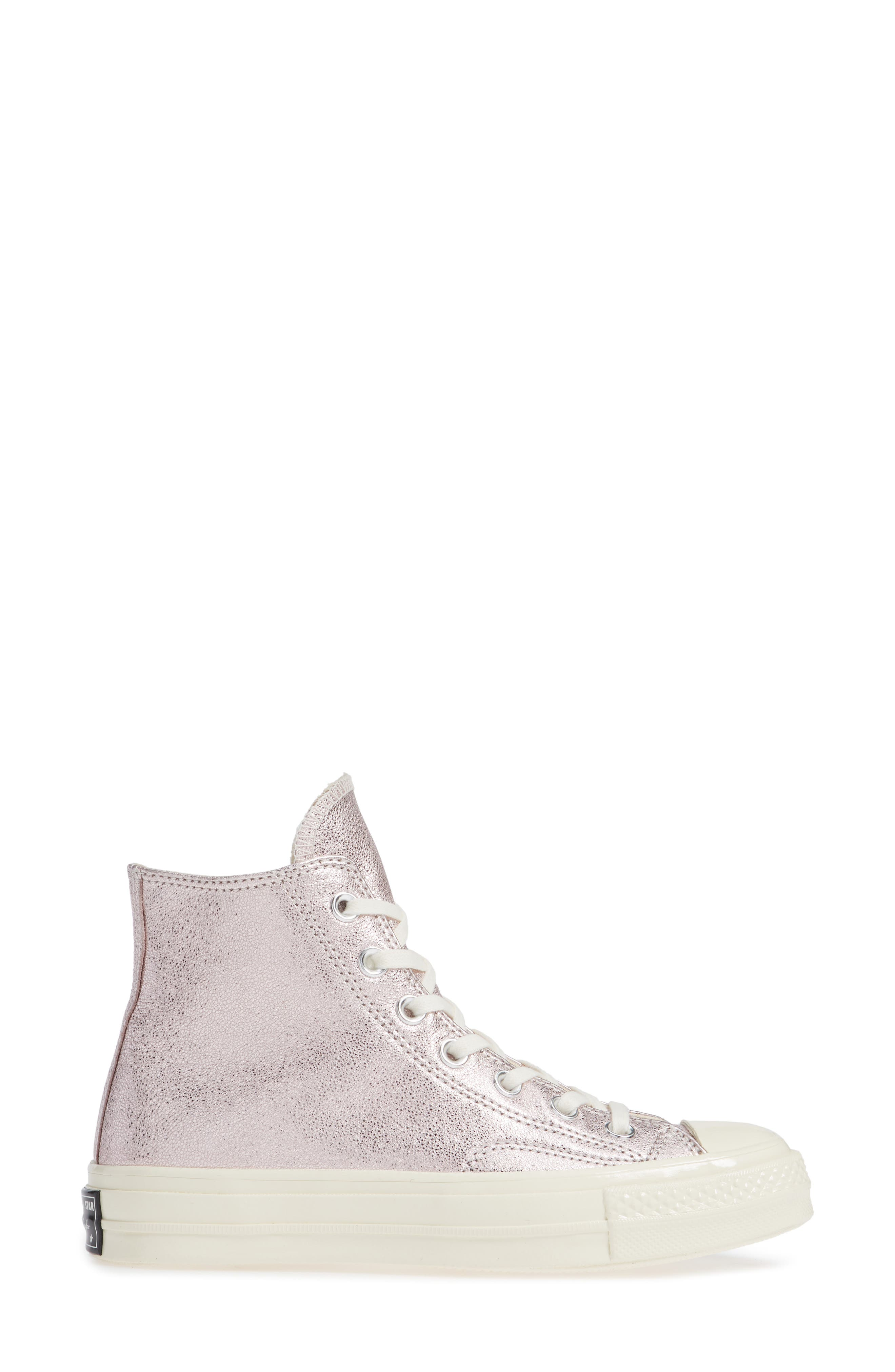 Chuck Taylor<sup>®</sup> All Star<sup>®</sup> Heavy Metal 70 High Top Sneaker,                             Alternate thumbnail 8, color,