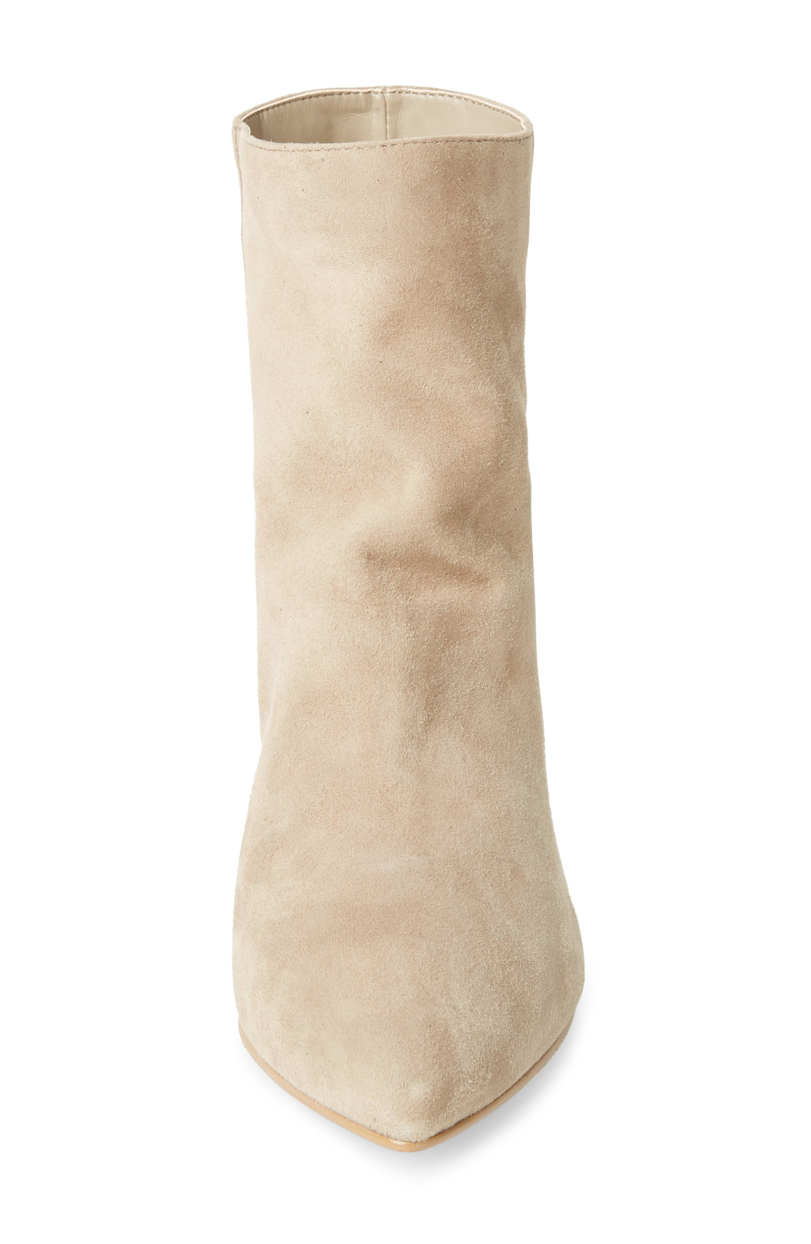 Scope Bootie,                             Alternate thumbnail 4, color,                             TAUPE SUEDE
