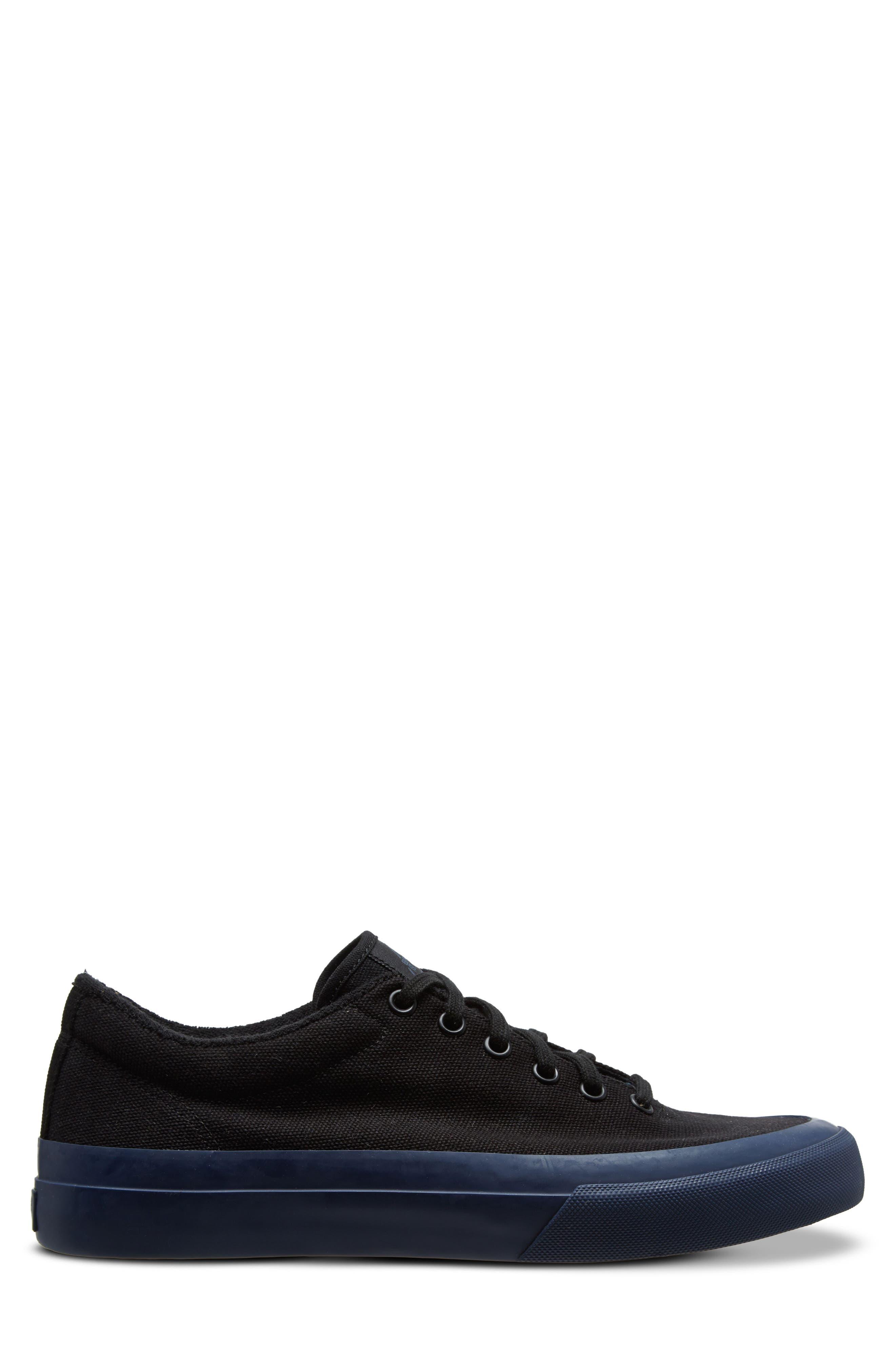 Vesta Low Top Sneaker,                             Alternate thumbnail 3, color,                             BLACK/ NAVY