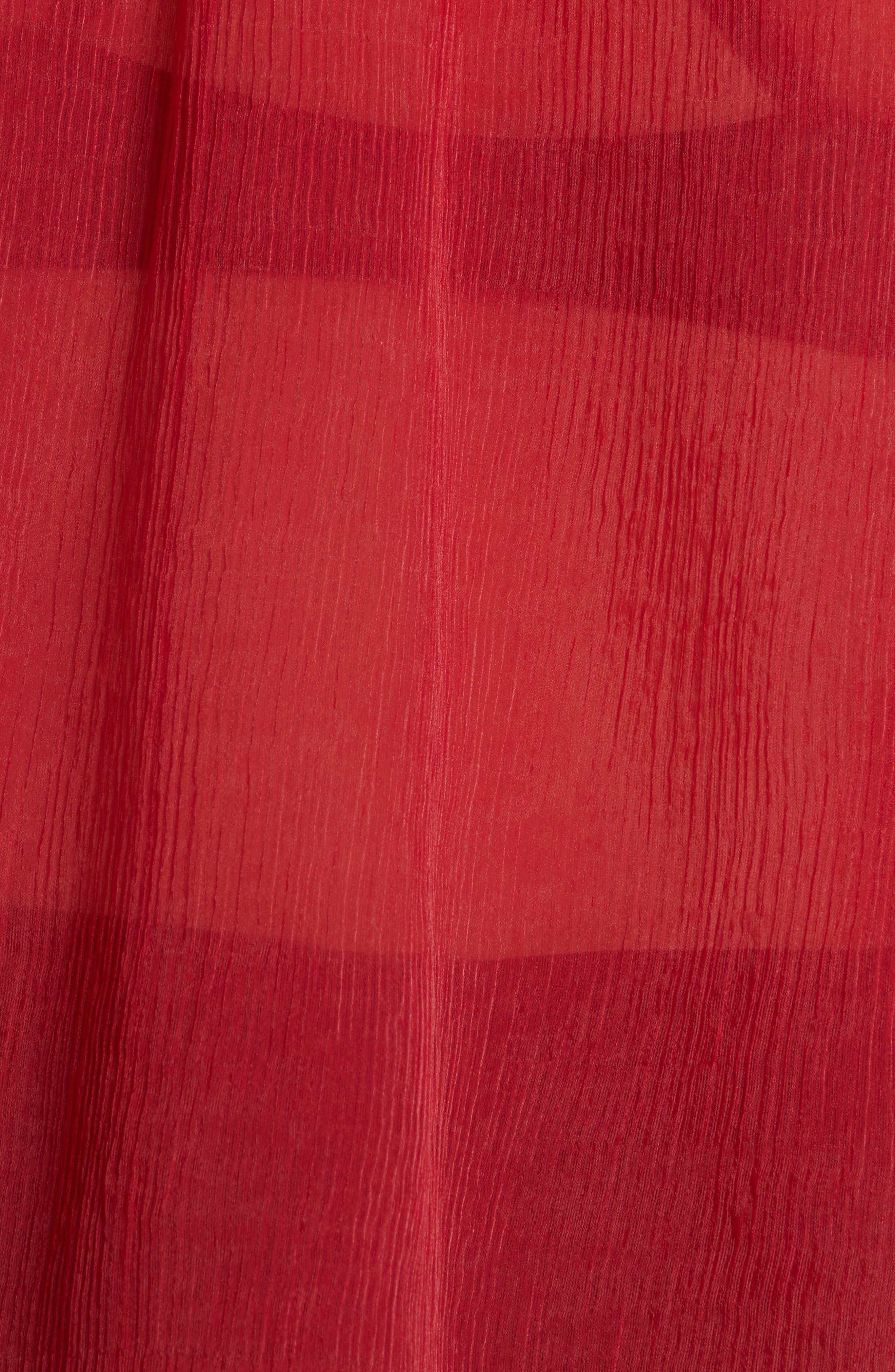Camarina Crinkle Chiffon Blouse,                             Alternate thumbnail 5, color,                             620