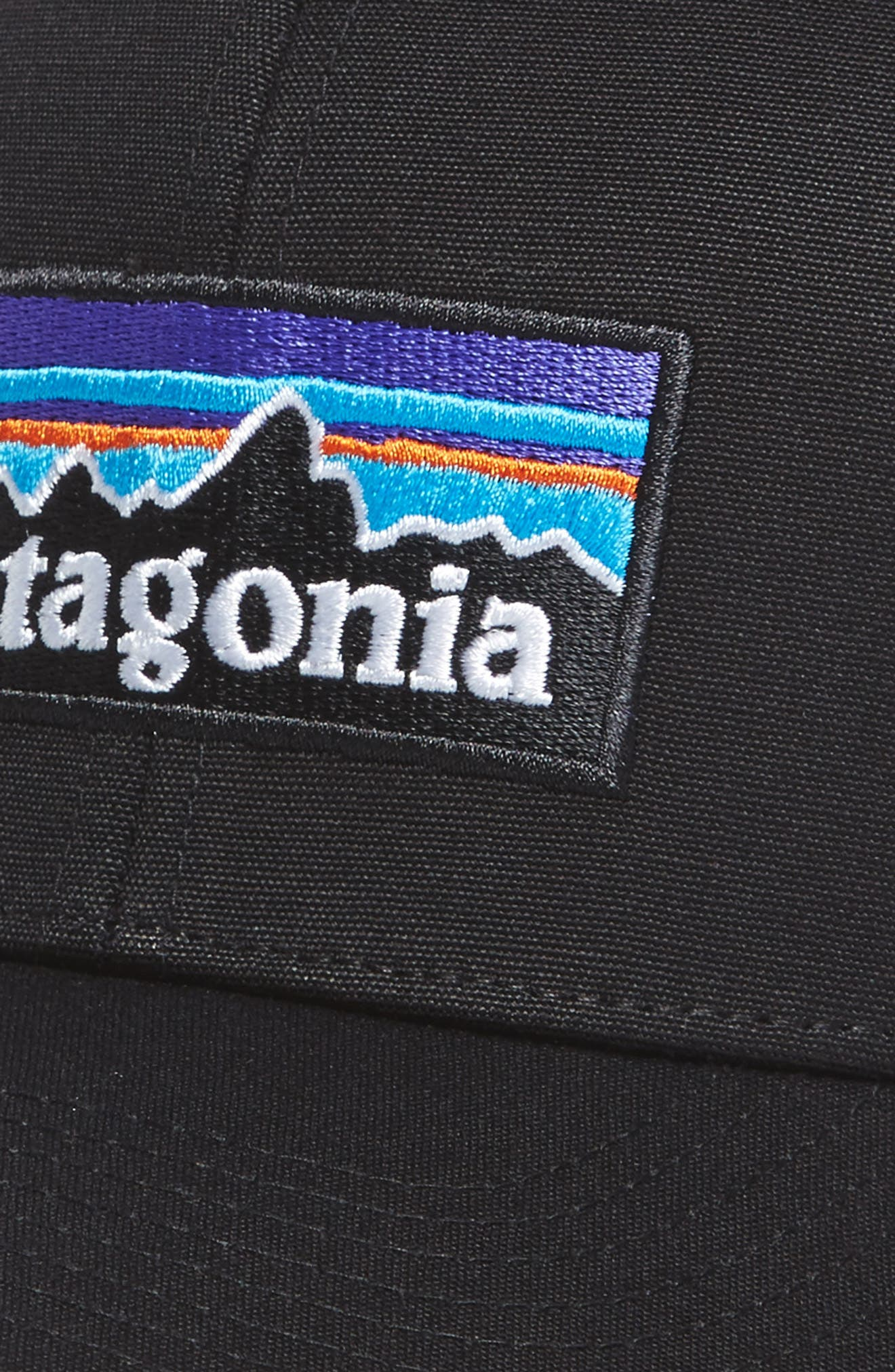 P-6 Logo Trucker Hat,                             Alternate thumbnail 3, color,                             001