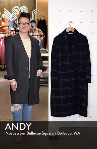 Shadow Plaid Coat, sales video thumbnail