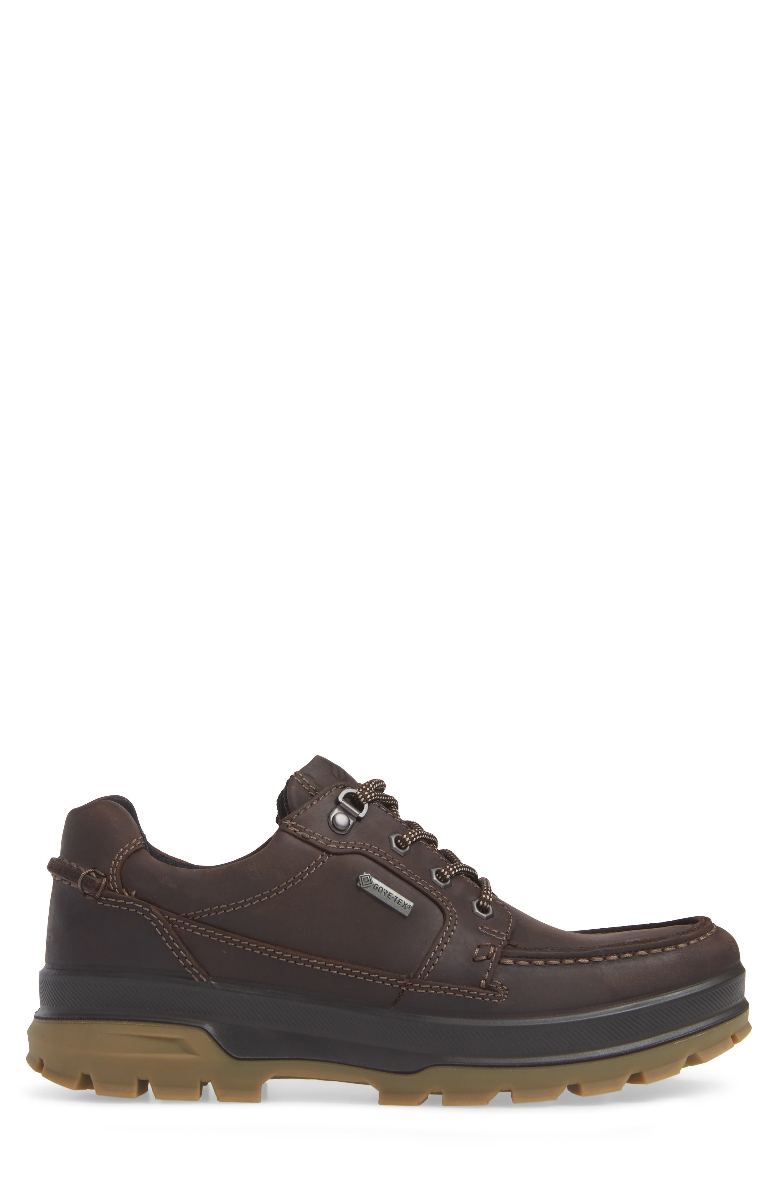 Rugged Track Low Gore-Tex<sup>®</sup> Oxford,                             Alternate thumbnail 3, color,                             MOCHA LEATHER