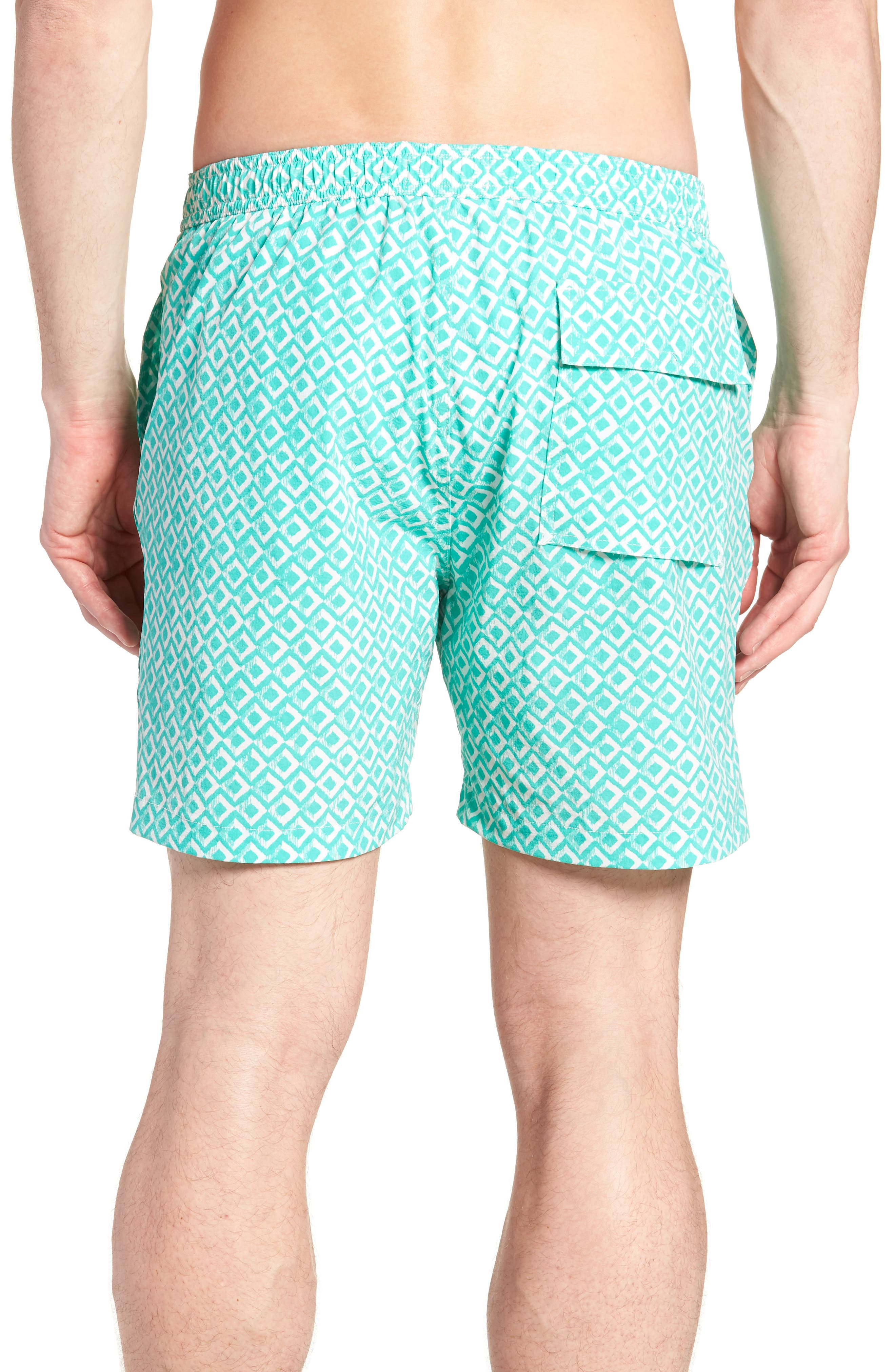 Drippy Diamond Swim Trunks,                             Alternate thumbnail 2, color,                             300
