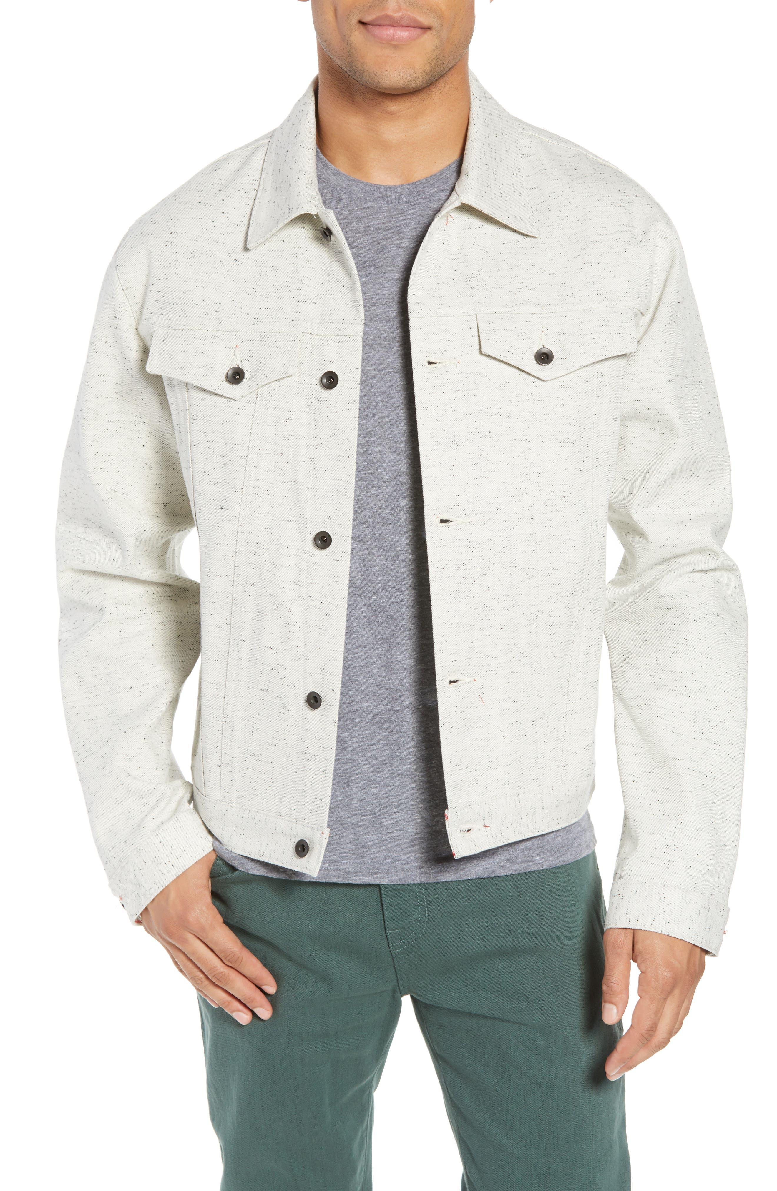 Natural Denim Jacket,                             Main thumbnail 1, color,                             123
