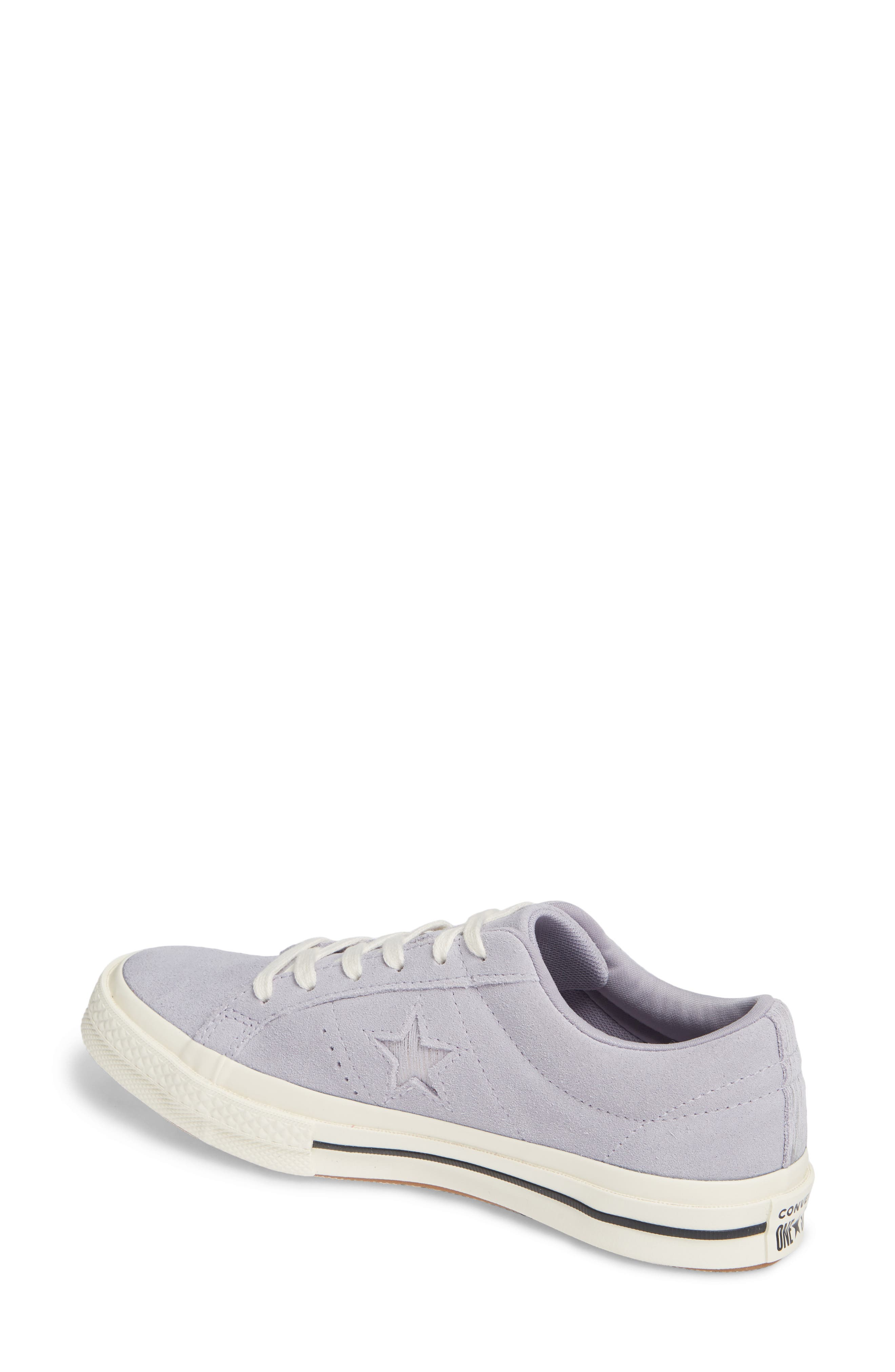One Star Suede Low Top Sneaker,                             Alternate thumbnail 8, color,
