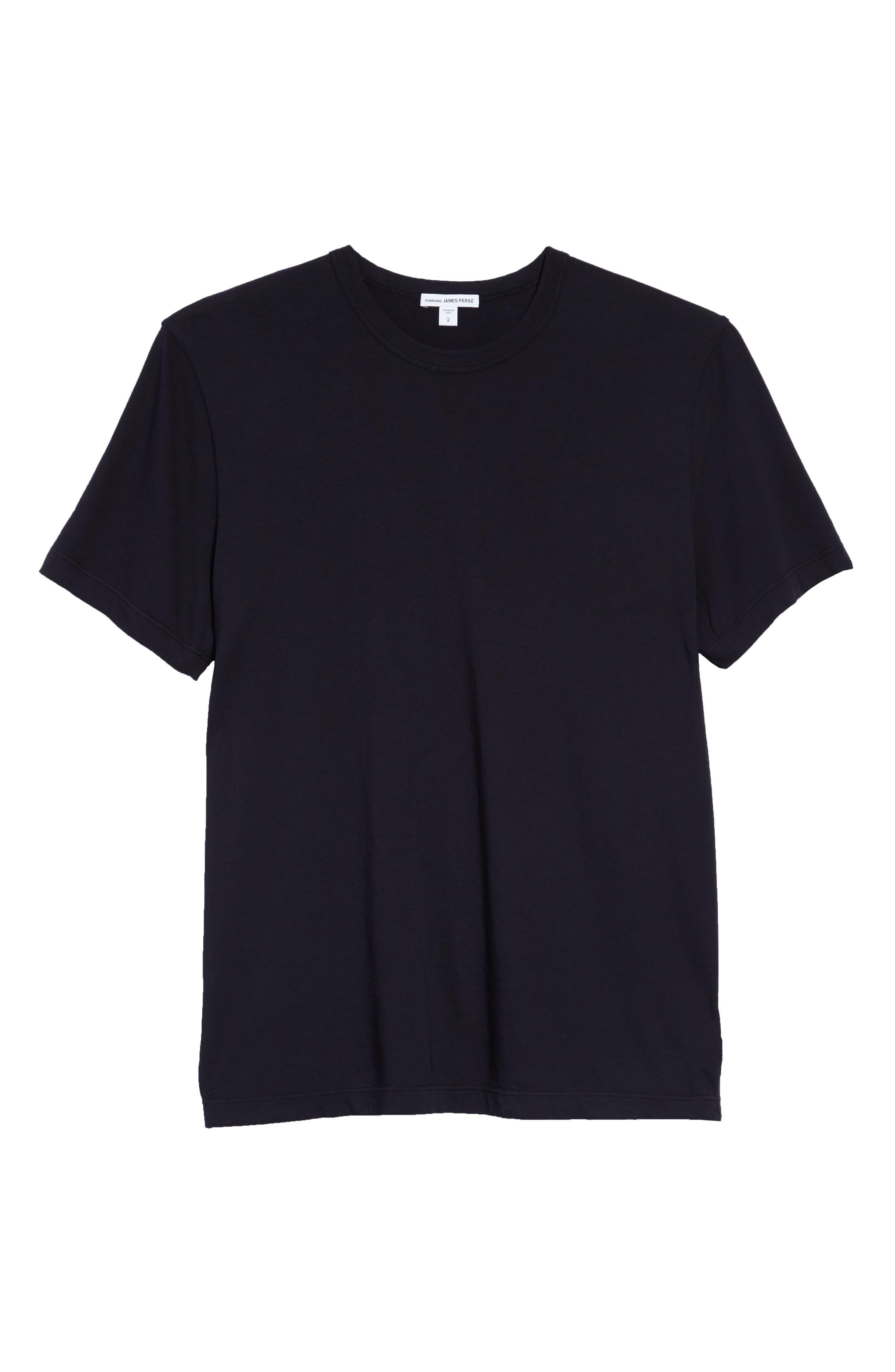Crewneck Jersey T-Shirt,                             Alternate thumbnail 130, color,