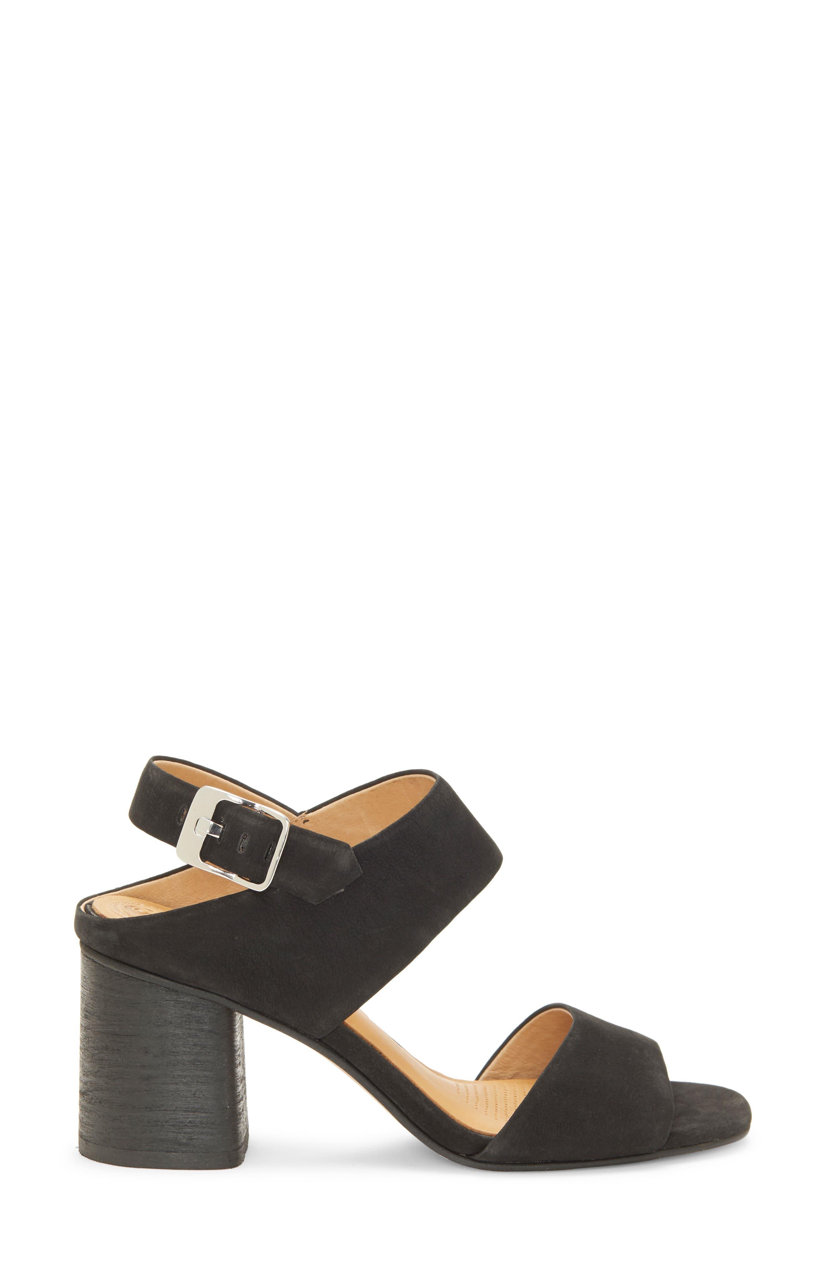 CC CORSO COMO<SUP>®</SUP>,                             CC Corso Como Prysm Block Heel Sandal,                             Alternate thumbnail 3, color,                             BLACK LEATHER